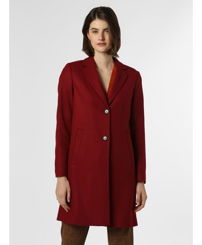 Płaszcz damski z dodatkiem kaszmiru