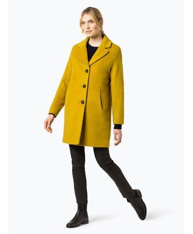 Płaszcz damski z dodatkiem moheru