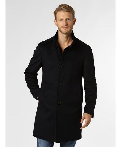 Płaszcz męski z dodatkiem kaszmiru – Maron