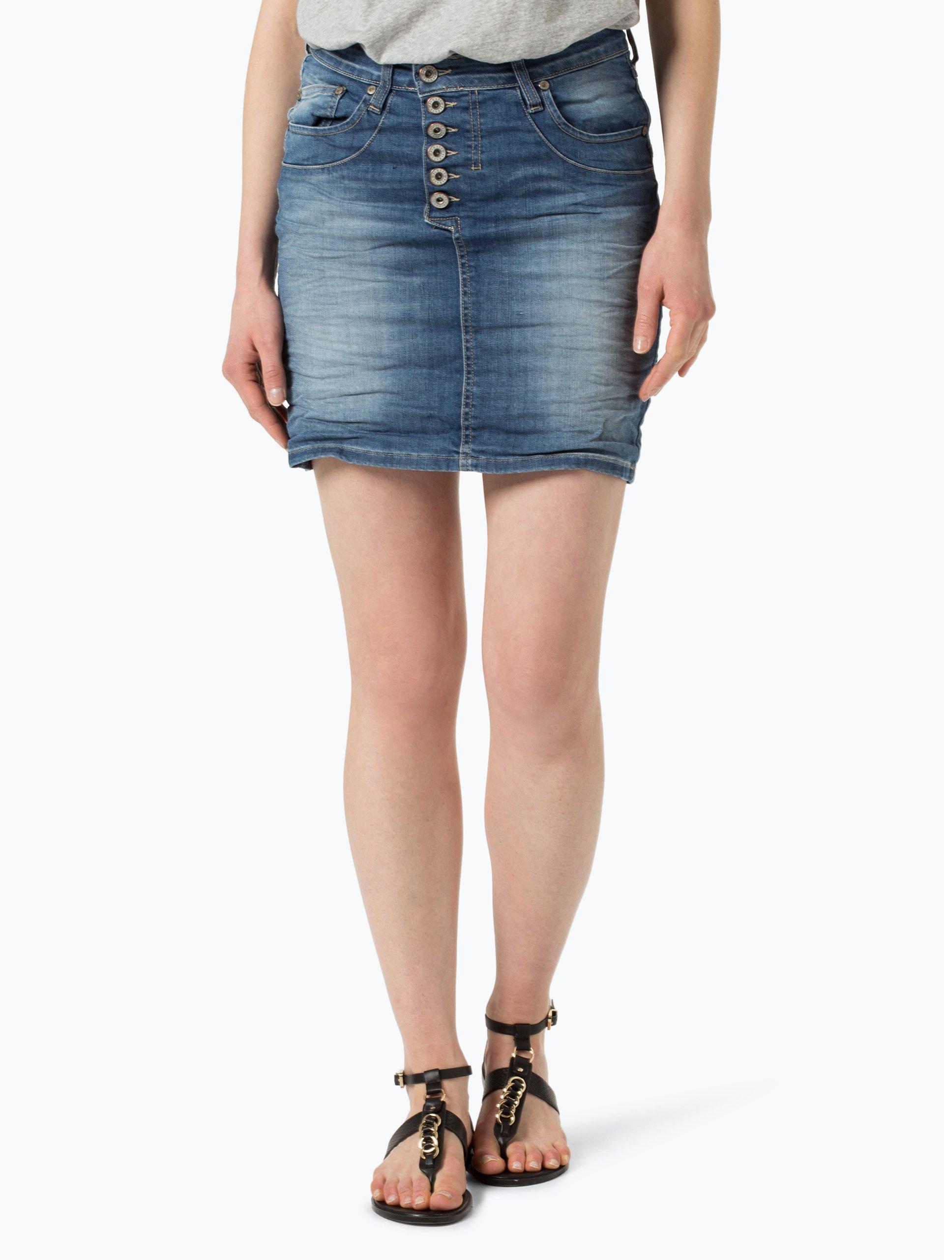 please damen jeansrock blau medium stone uni online kaufen. Black Bedroom Furniture Sets. Home Design Ideas