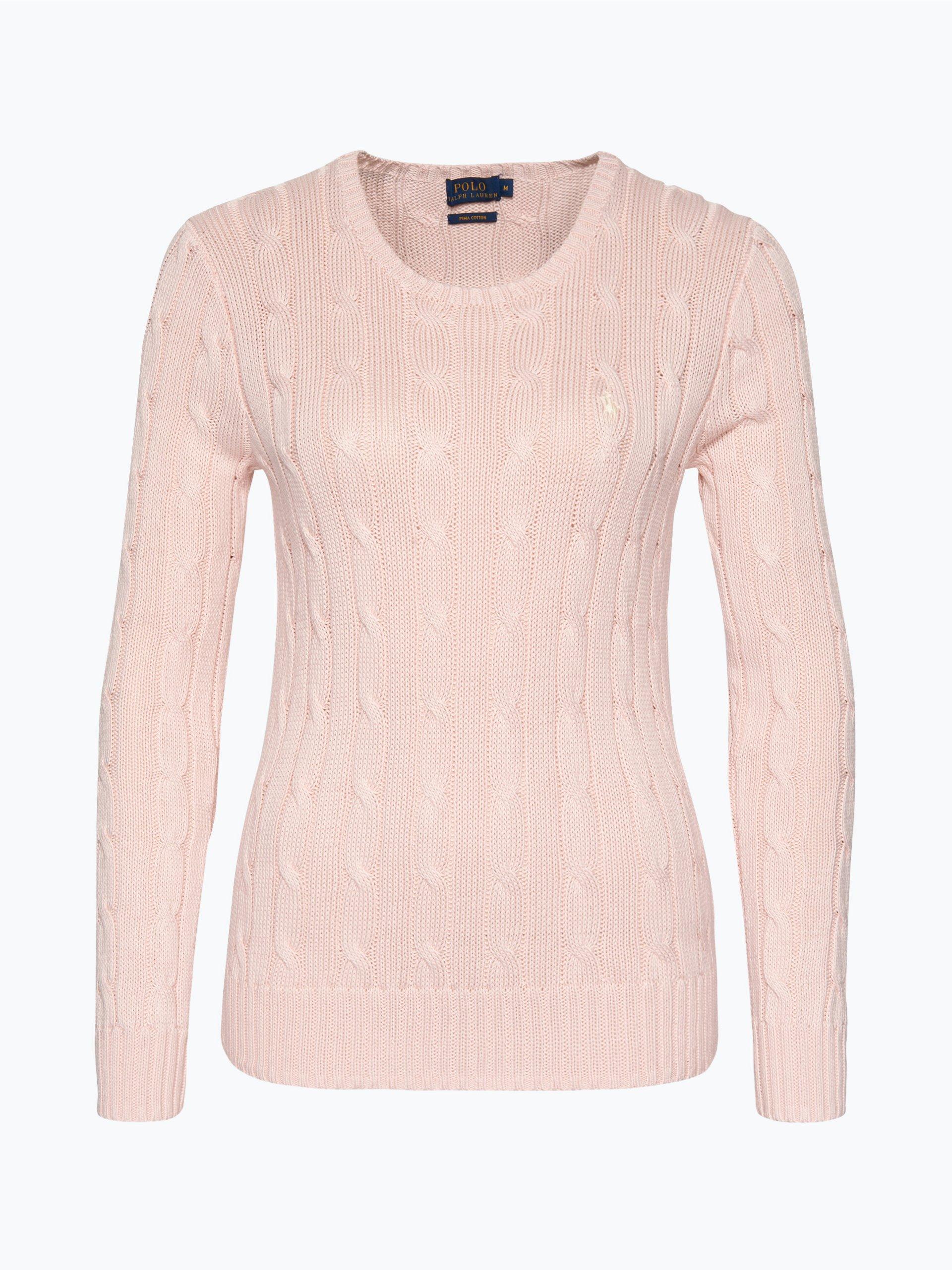 polo ralph lauren damen pullover rosa uni online kaufen. Black Bedroom Furniture Sets. Home Design Ideas