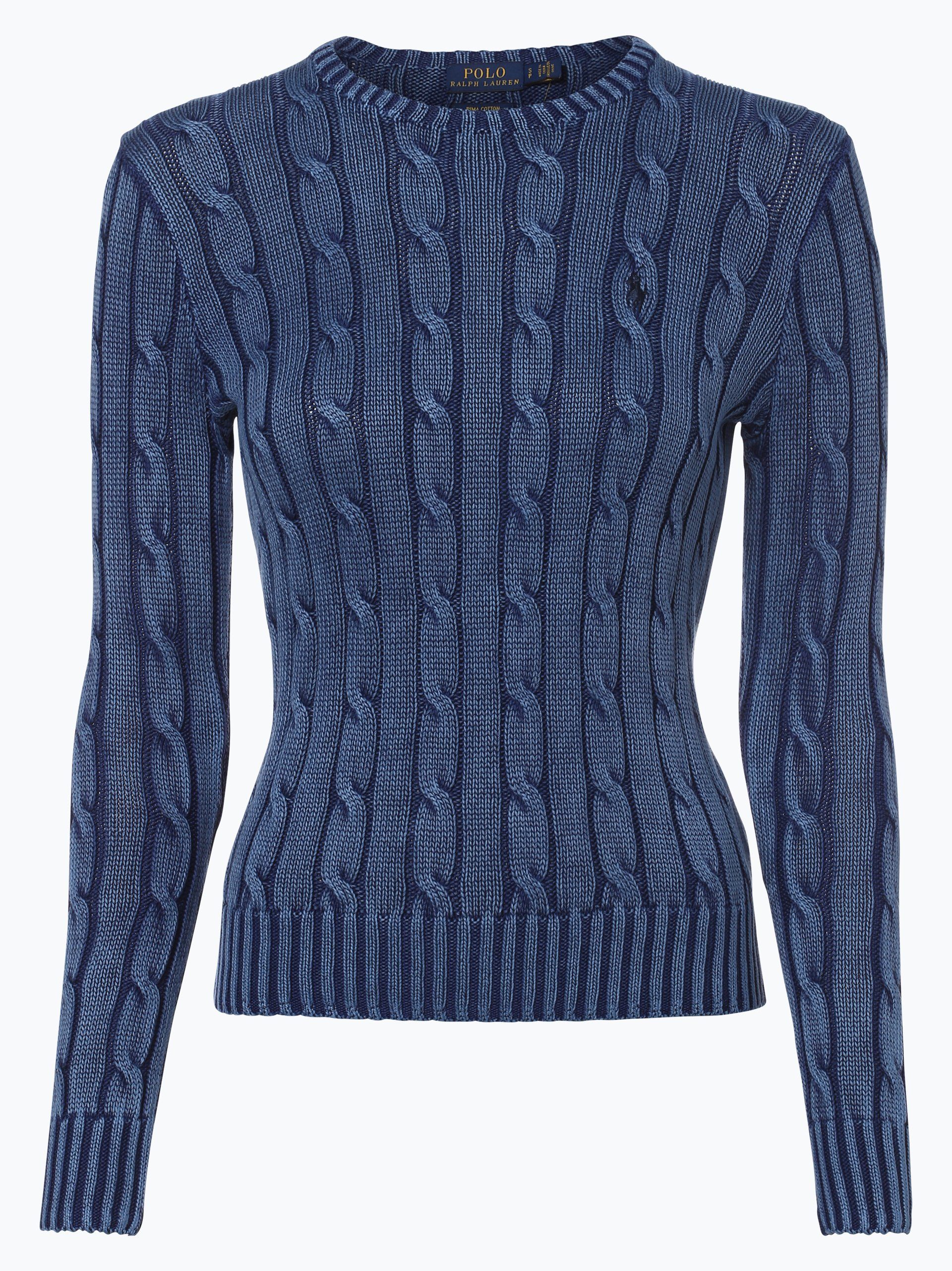 polo ralph lauren damen pullover indigo uni online kaufen. Black Bedroom Furniture Sets. Home Design Ideas