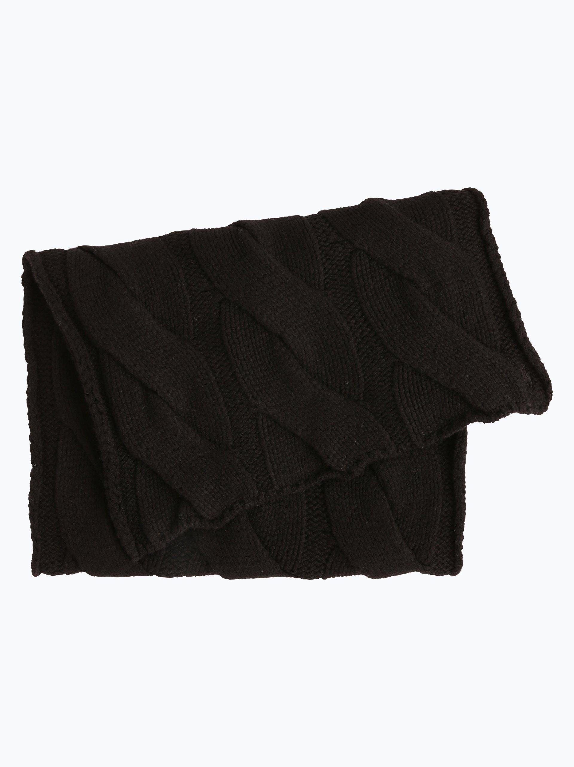 polo ralph lauren damen schal schwarz uni online kaufen vangraaf com. Black Bedroom Furniture Sets. Home Design Ideas