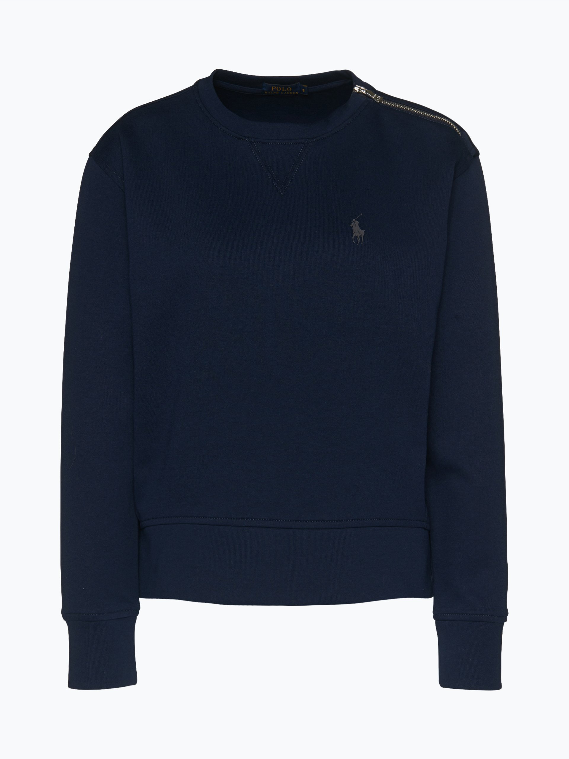 polo ralph lauren damen sweatshirt marine uni online. Black Bedroom Furniture Sets. Home Design Ideas