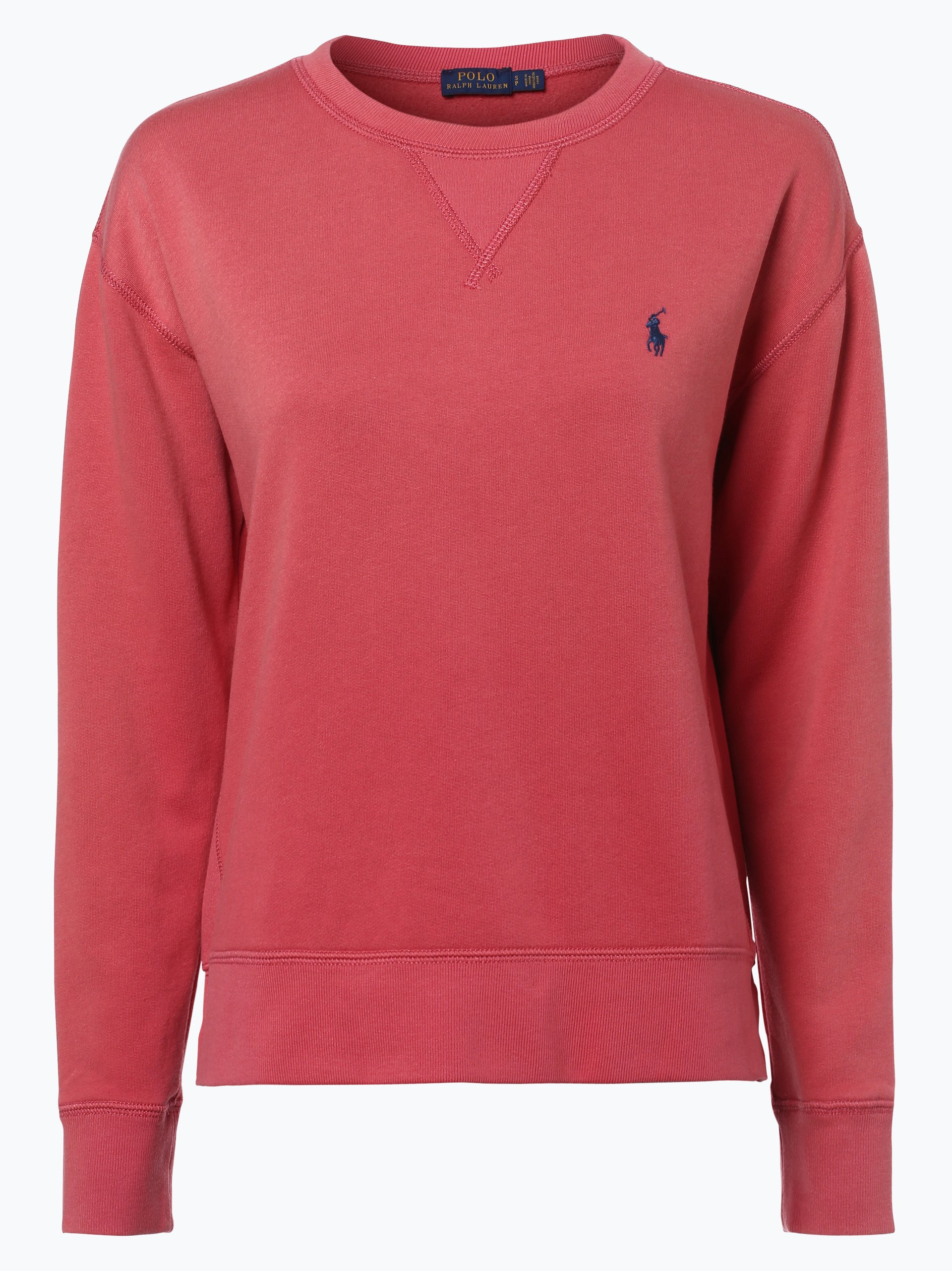 polo ralph lauren damen sweatshirt rot uni online kaufen. Black Bedroom Furniture Sets. Home Design Ideas