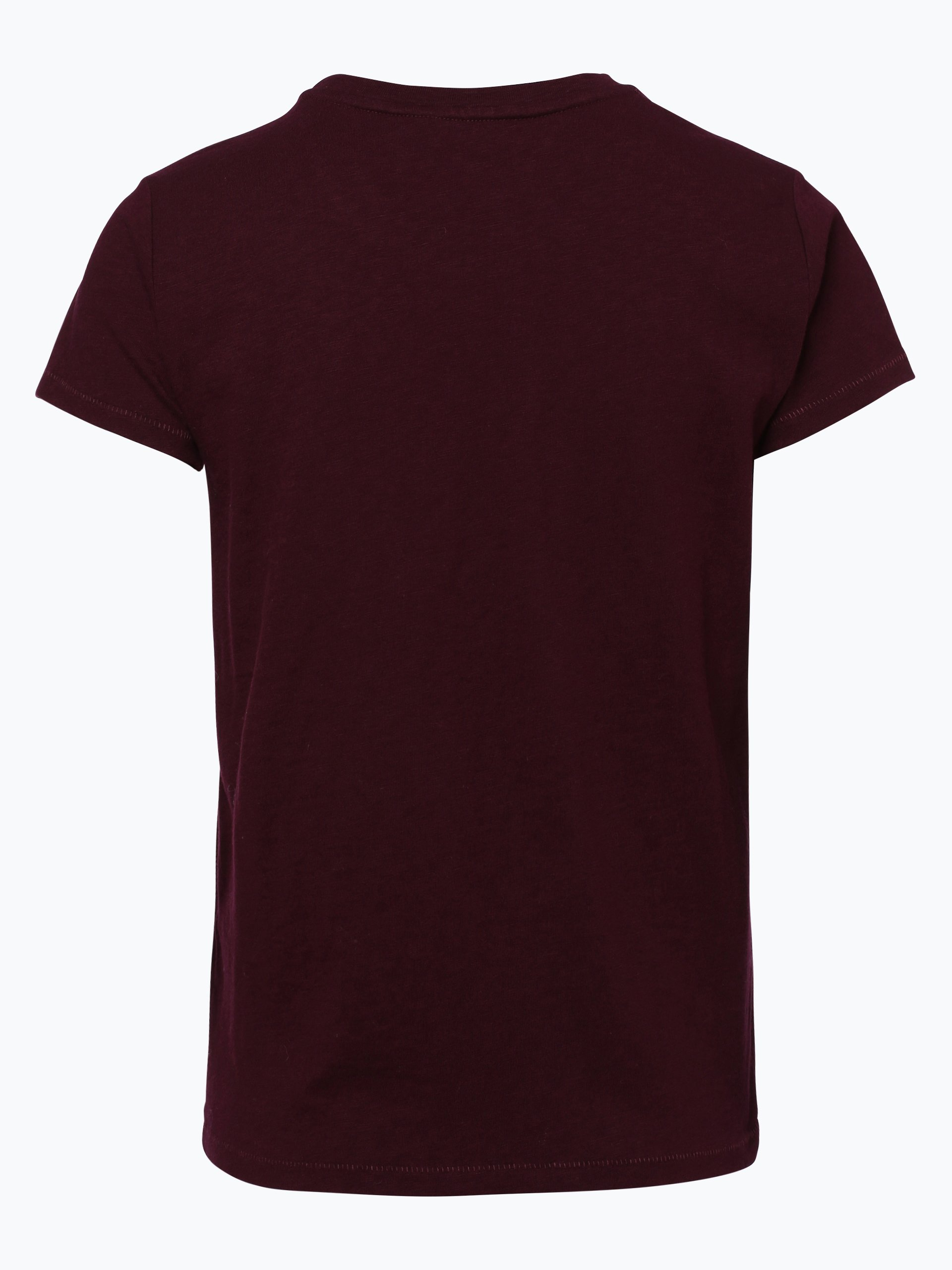 polo ralph lauren damen t shirt bordeaux gemustert online