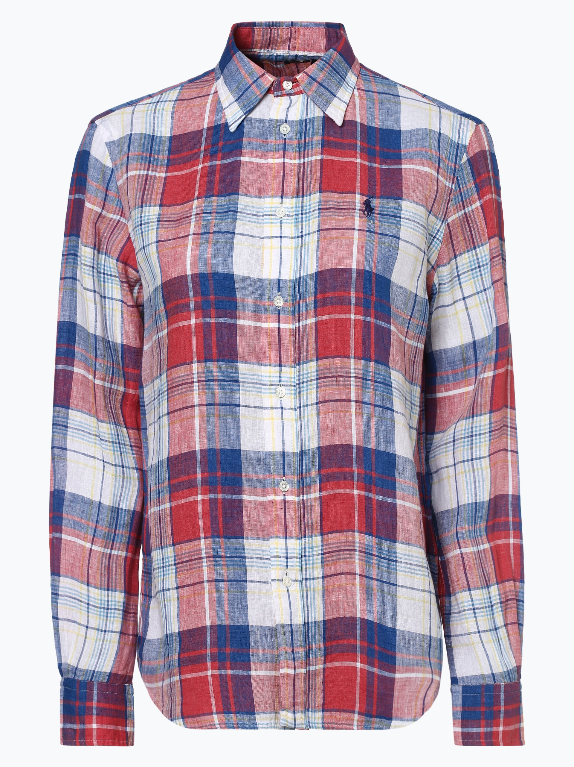 Polo Ralph Lauren Damska bluzka lniana – Relaxed Fit