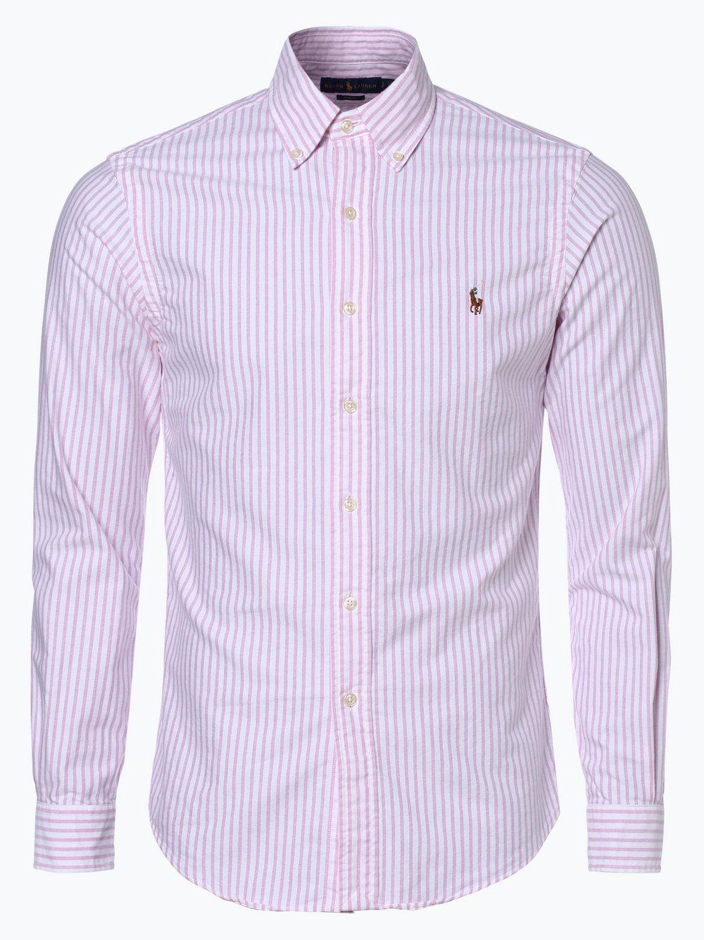 c7a07adc46ebaf Polo Ralph Lauren Herren Hemd Slim Fit rosa gestreift online kaufen ...