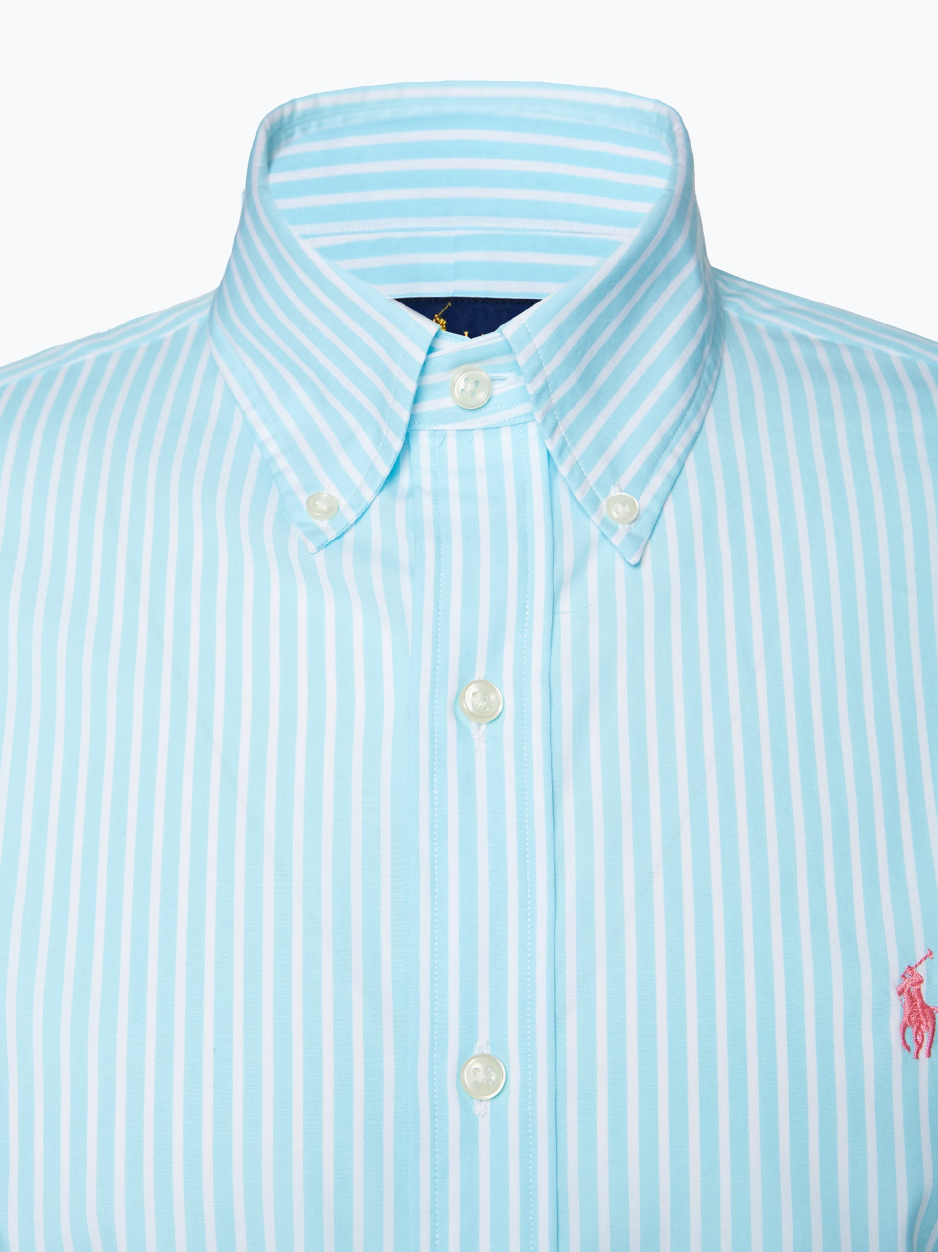 polo ralph lauren herren hemd blau gestreift online kaufen vangraaf com. Black Bedroom Furniture Sets. Home Design Ideas
