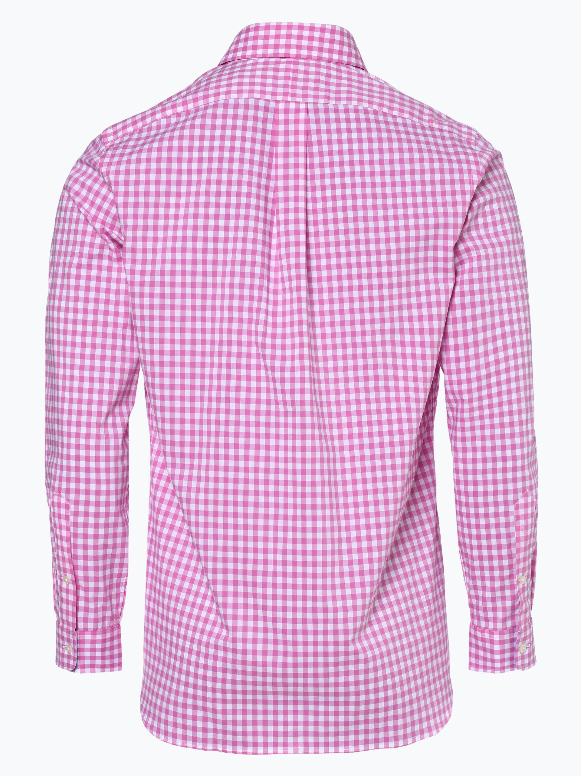 polo ralph lauren herren hemd rosa kariert online kaufen vangraaf com. Black Bedroom Furniture Sets. Home Design Ideas