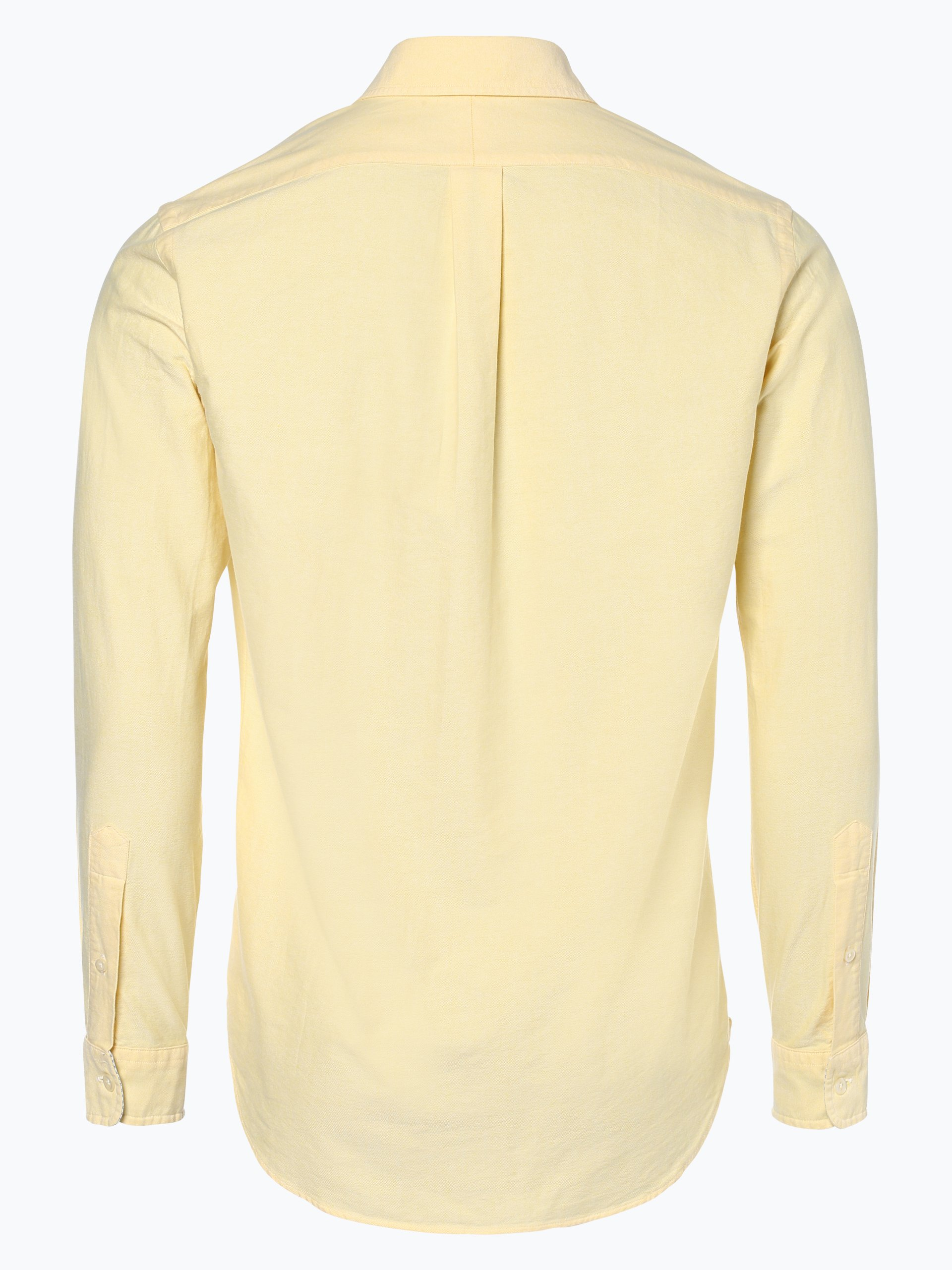 polo ralph lauren herren hemd gelb uni online kaufen peek und cloppenburg de. Black Bedroom Furniture Sets. Home Design Ideas