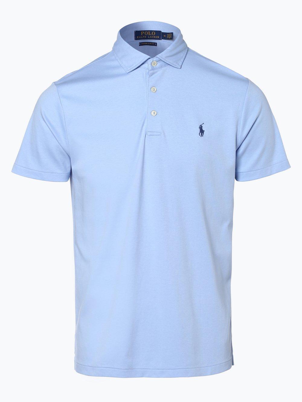42fba3aa3061 Polo Ralph Lauren Herren Poloshirt Regular Fit hellblau uni online ...