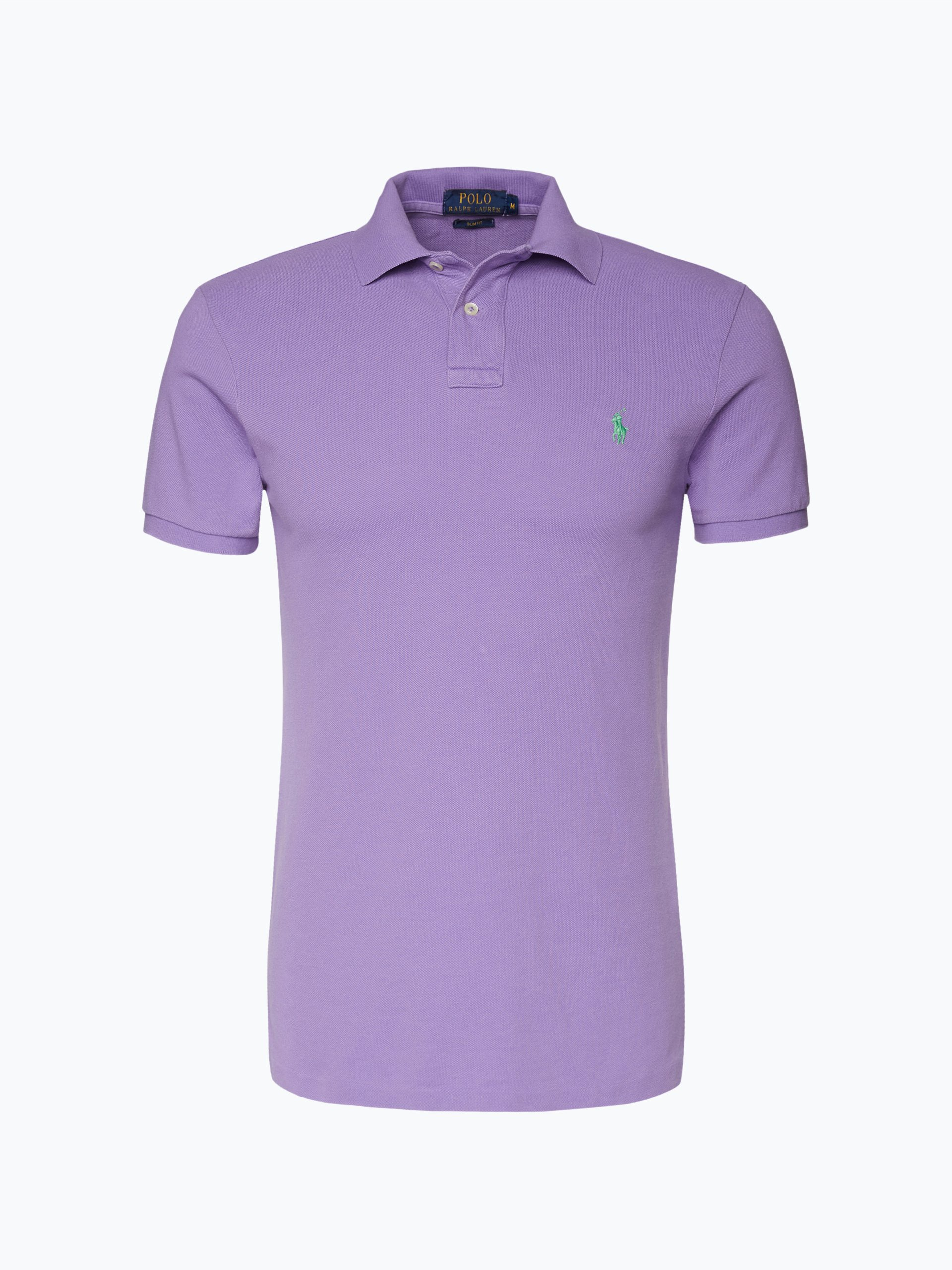 polo ralph lauren herren poloshirt purple uni online. Black Bedroom Furniture Sets. Home Design Ideas