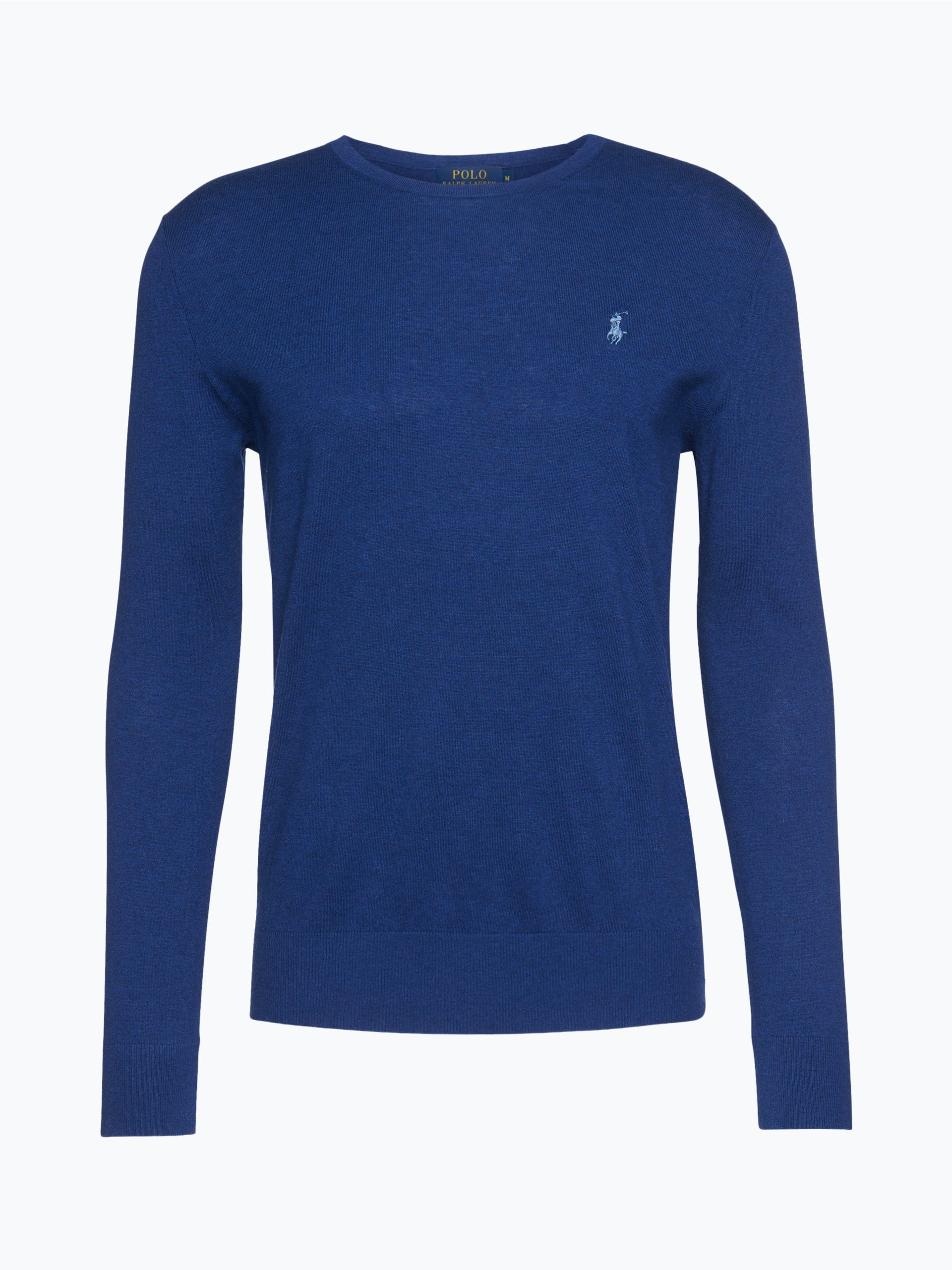 polo ralph lauren herren pullover mit cashmere anteil blau uni online kaufen vangraaf com. Black Bedroom Furniture Sets. Home Design Ideas
