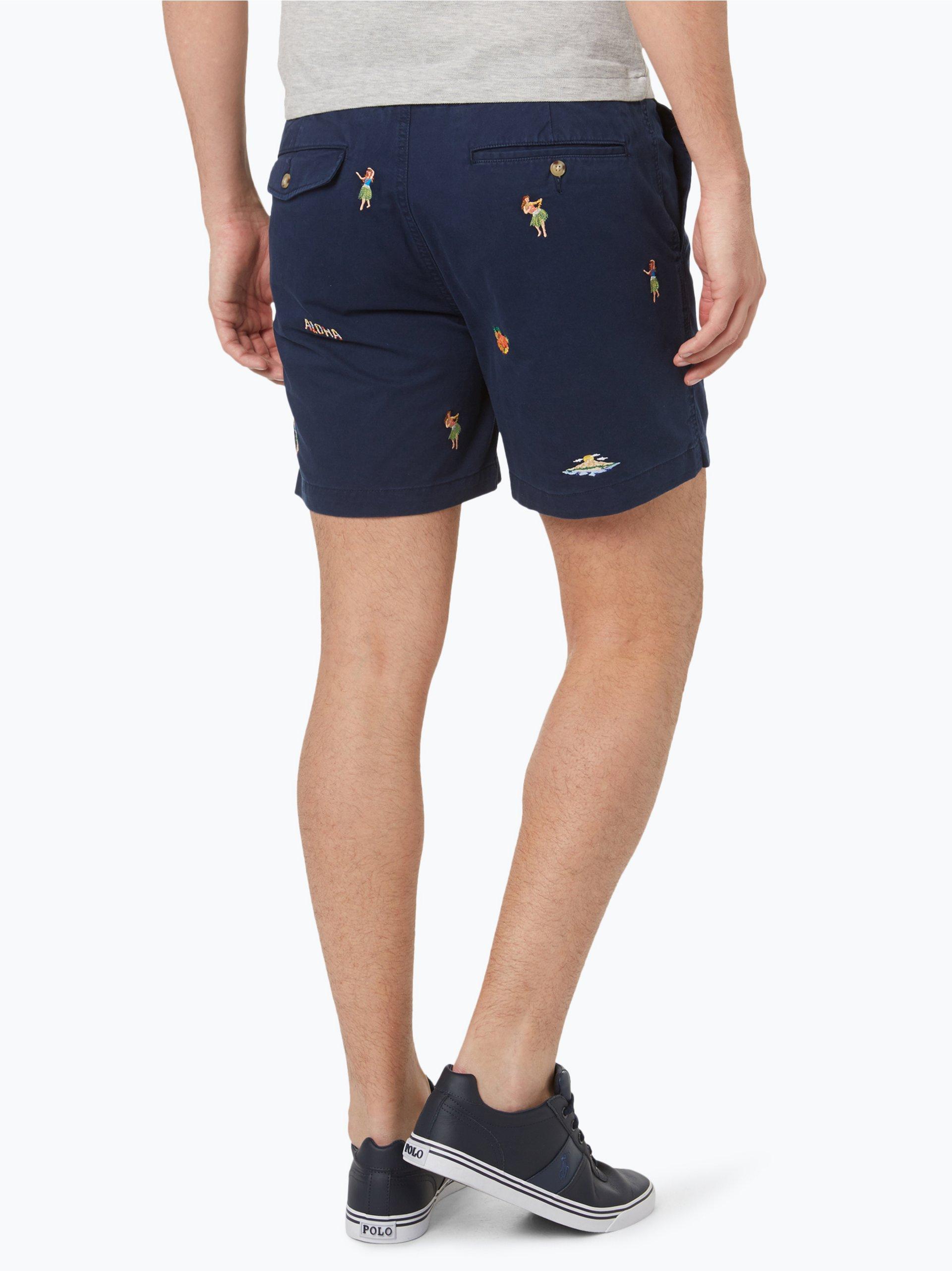 polo ralph lauren herren shorts marine uni online kaufen. Black Bedroom Furniture Sets. Home Design Ideas