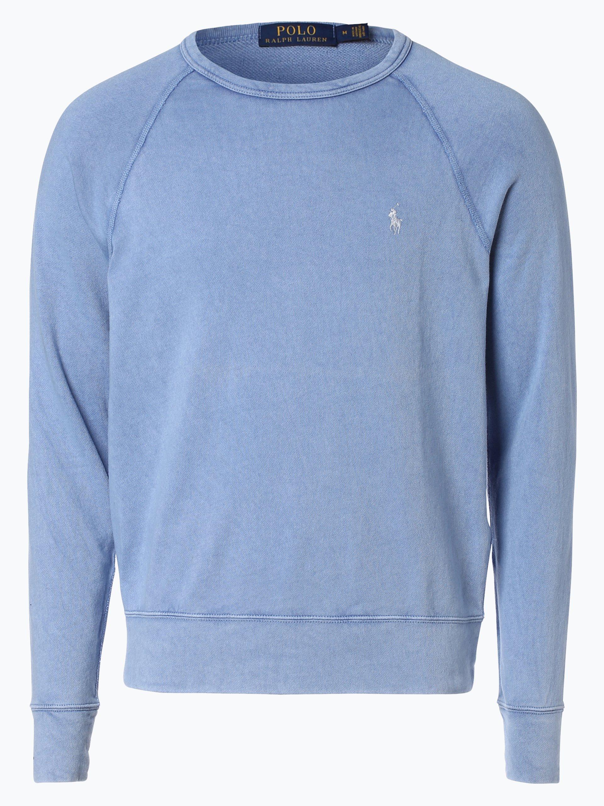 polo ralph lauren herren sweatshirt blau uni online kaufen. Black Bedroom Furniture Sets. Home Design Ideas