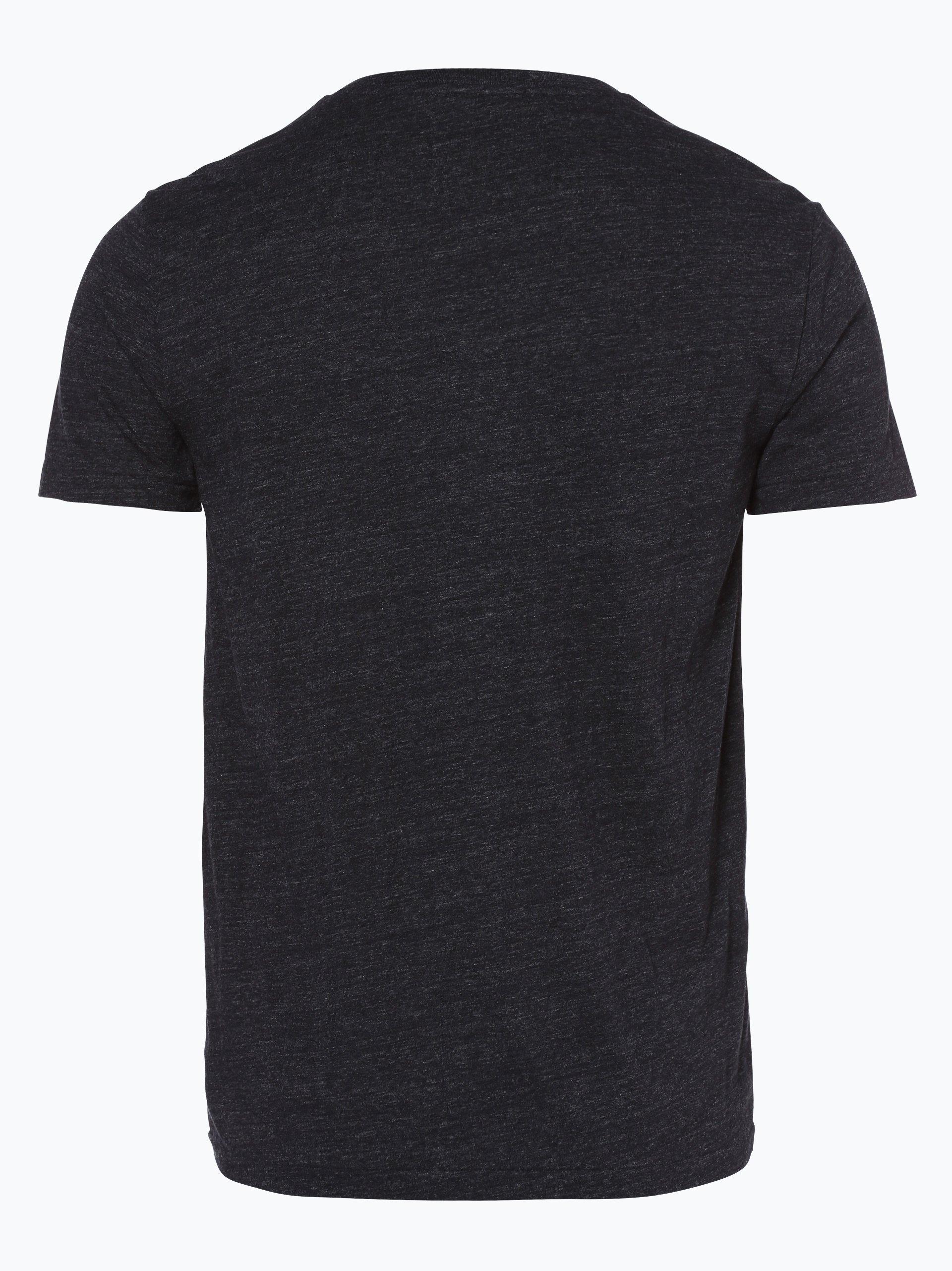 polo ralph lauren herren t shirt schwarz uni online kaufen peek und cloppenburg de. Black Bedroom Furniture Sets. Home Design Ideas