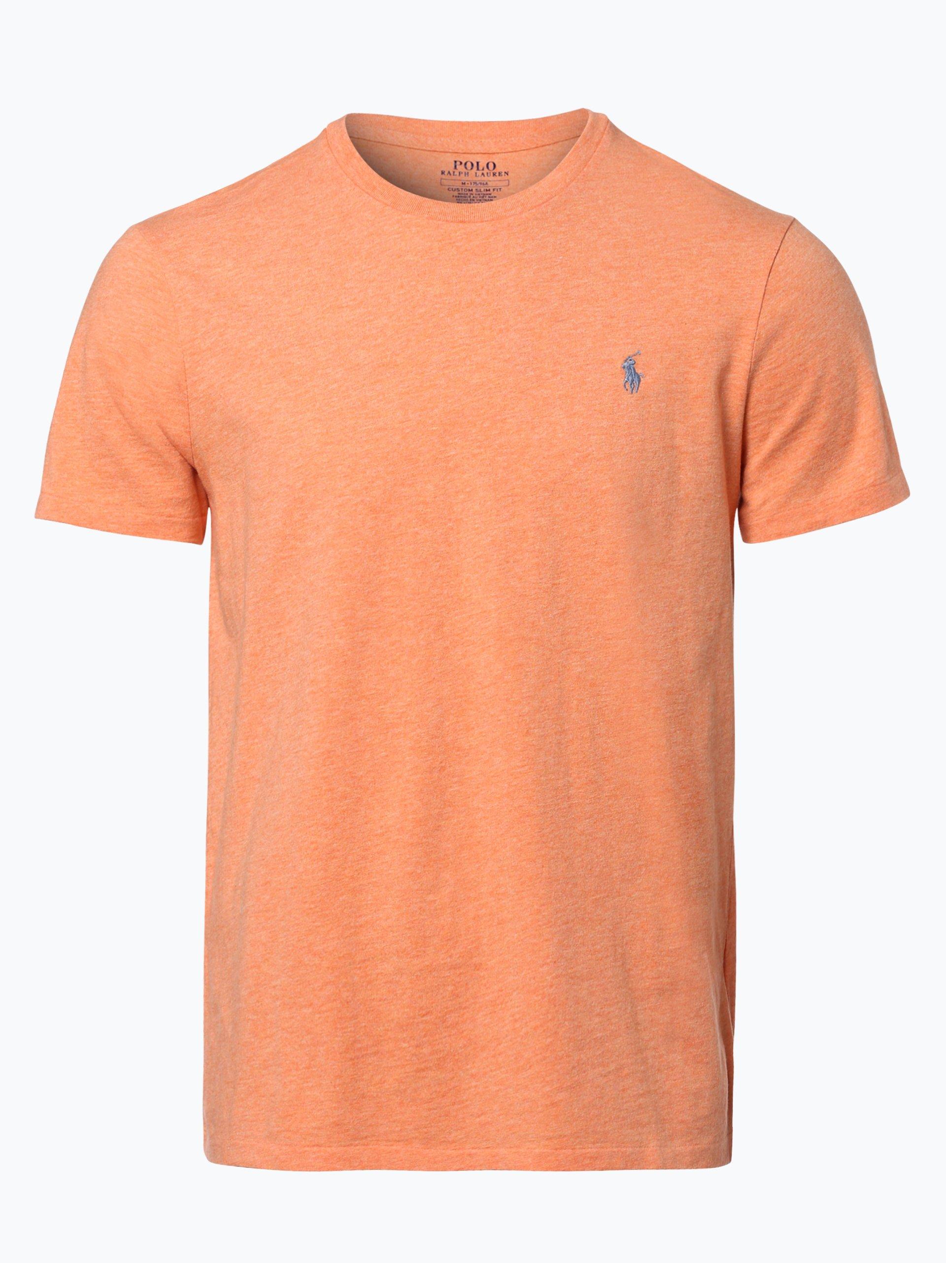 polo ralph lauren herren t shirt orange meliert online kaufen peek und cloppenburg de. Black Bedroom Furniture Sets. Home Design Ideas