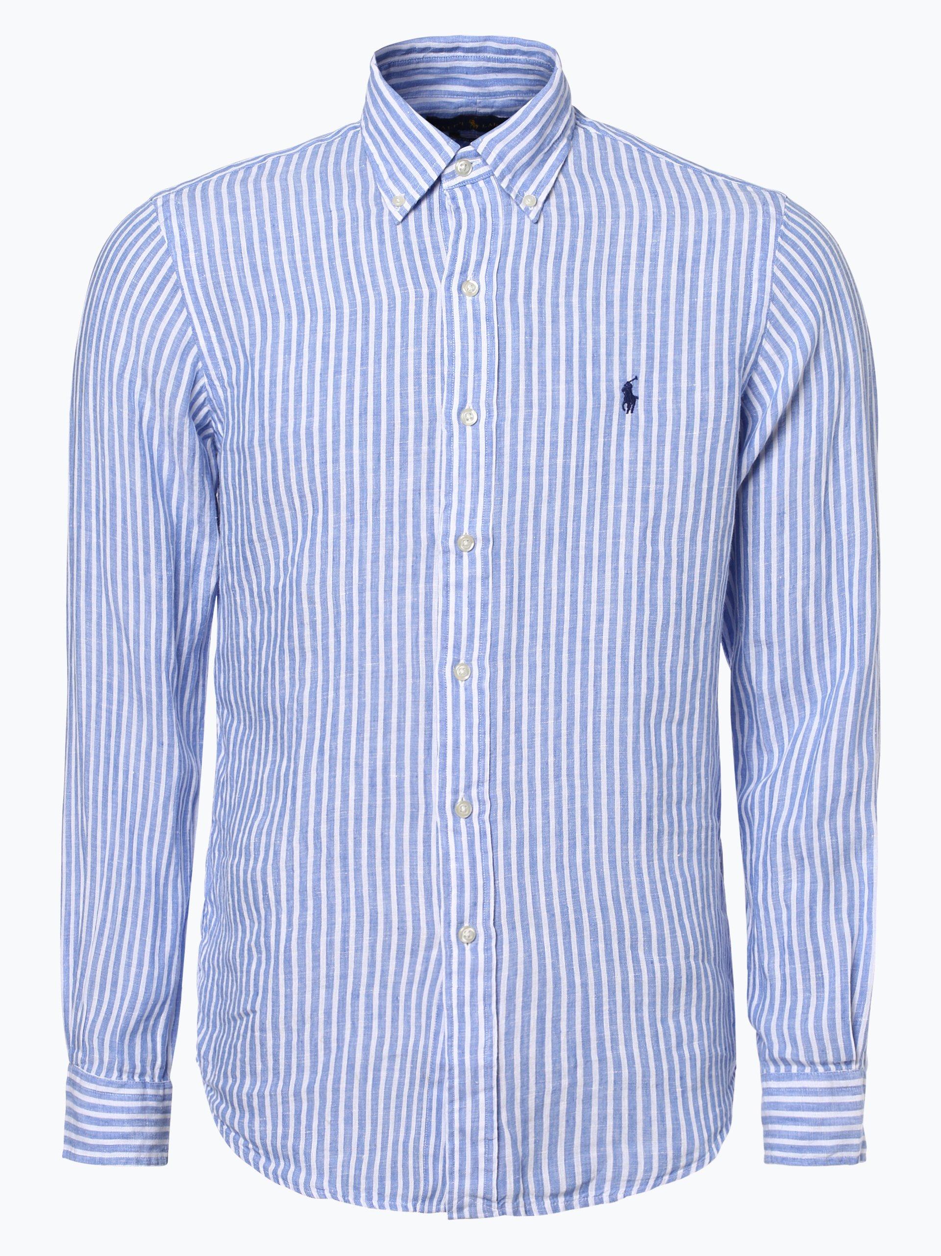 Polo Ralph Lauren Męska koszula lniana