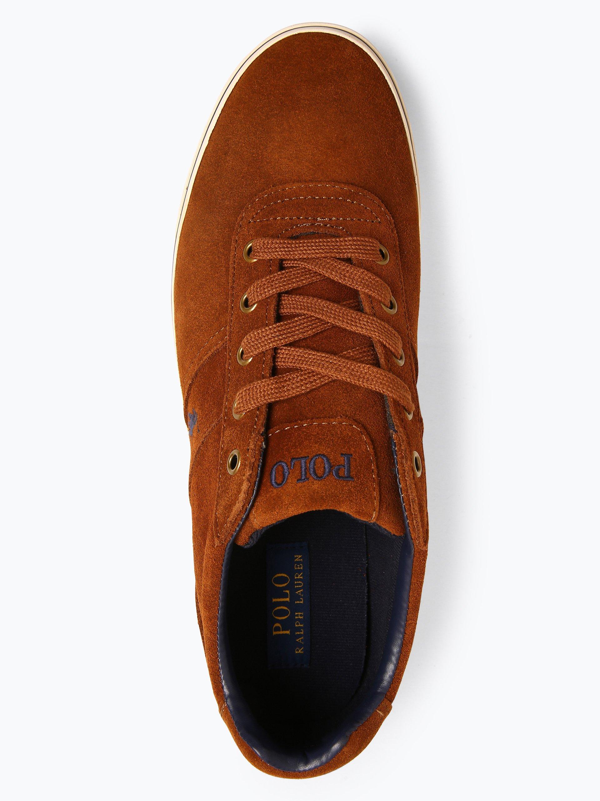 Polo Ralph Lauren Męskie tenisówki ze skóry – Hanford