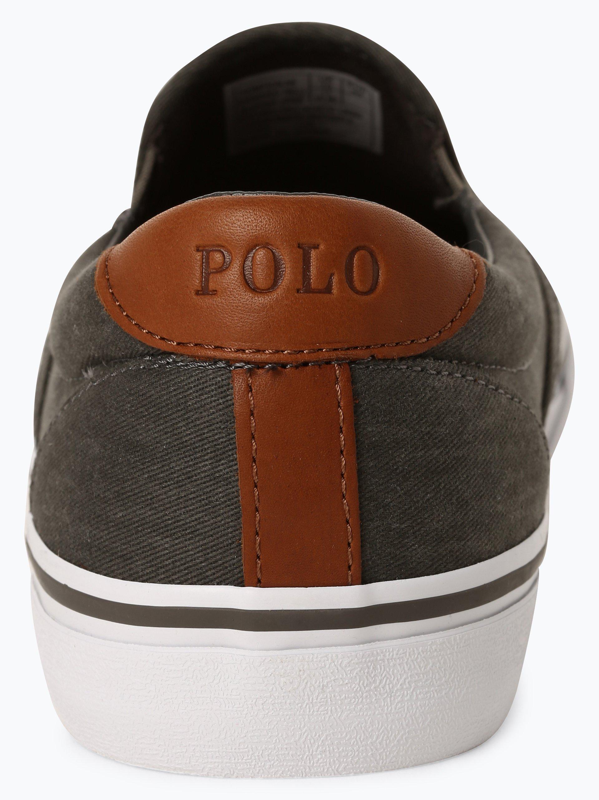 Polo Ralph Lauren Tenisówki męskie z dodatkiem skóry – Thompson