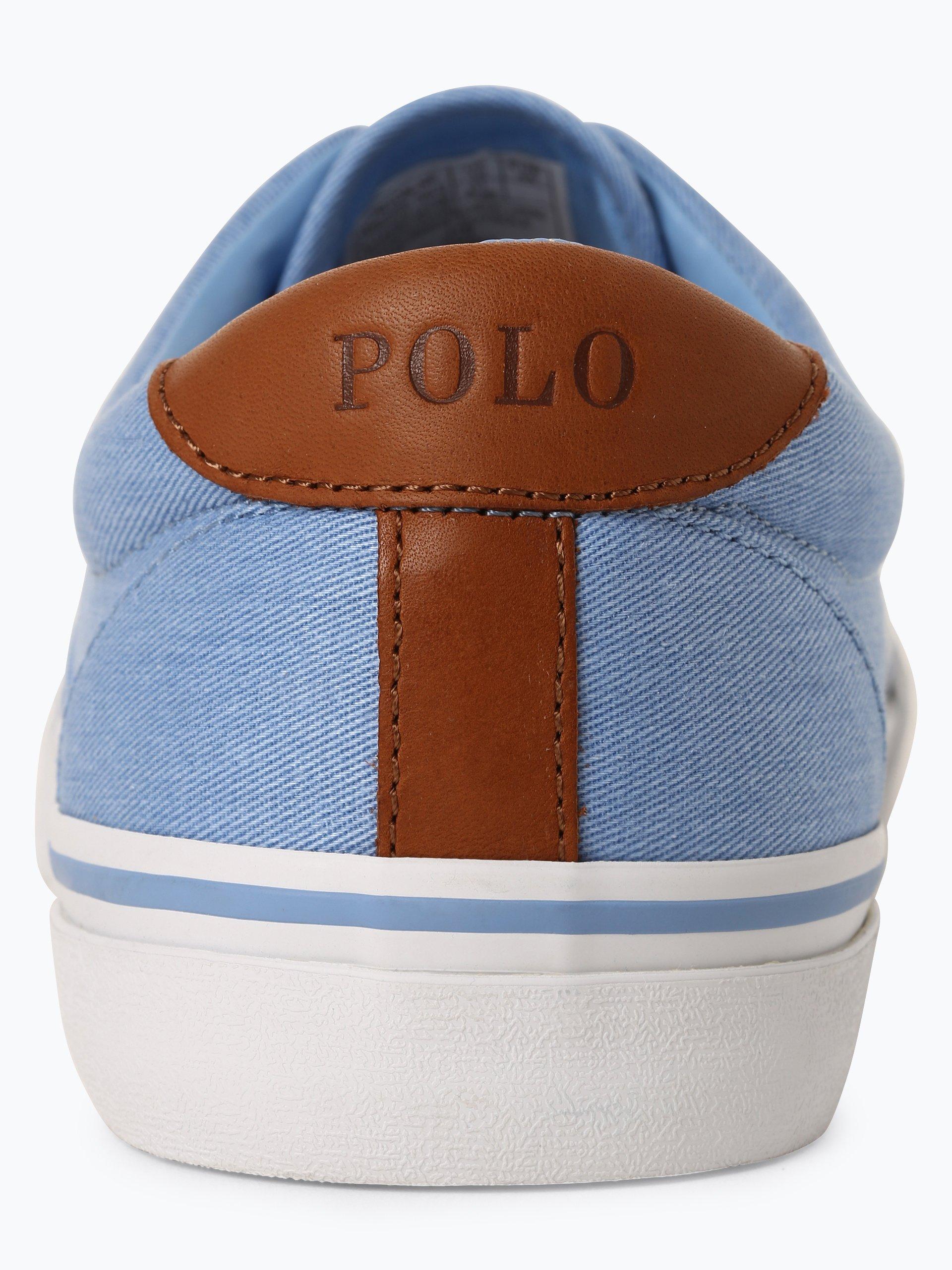 Polo Ralph Lauren Tenisówki męskie z dodatkiem skóry – Thorton