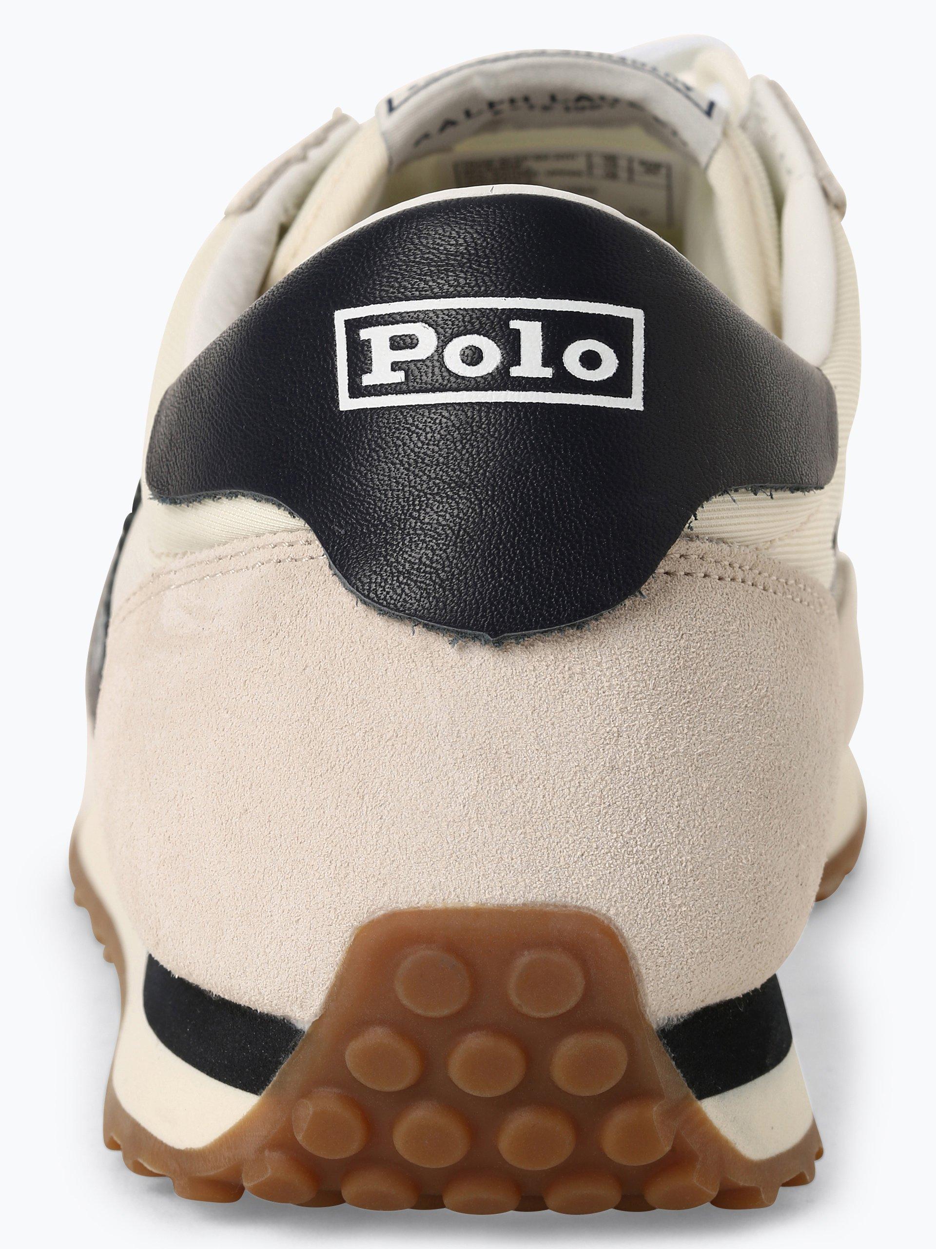 Polo Ralph Lauren Tenisówki męskie z dodatkiem skóry – Train