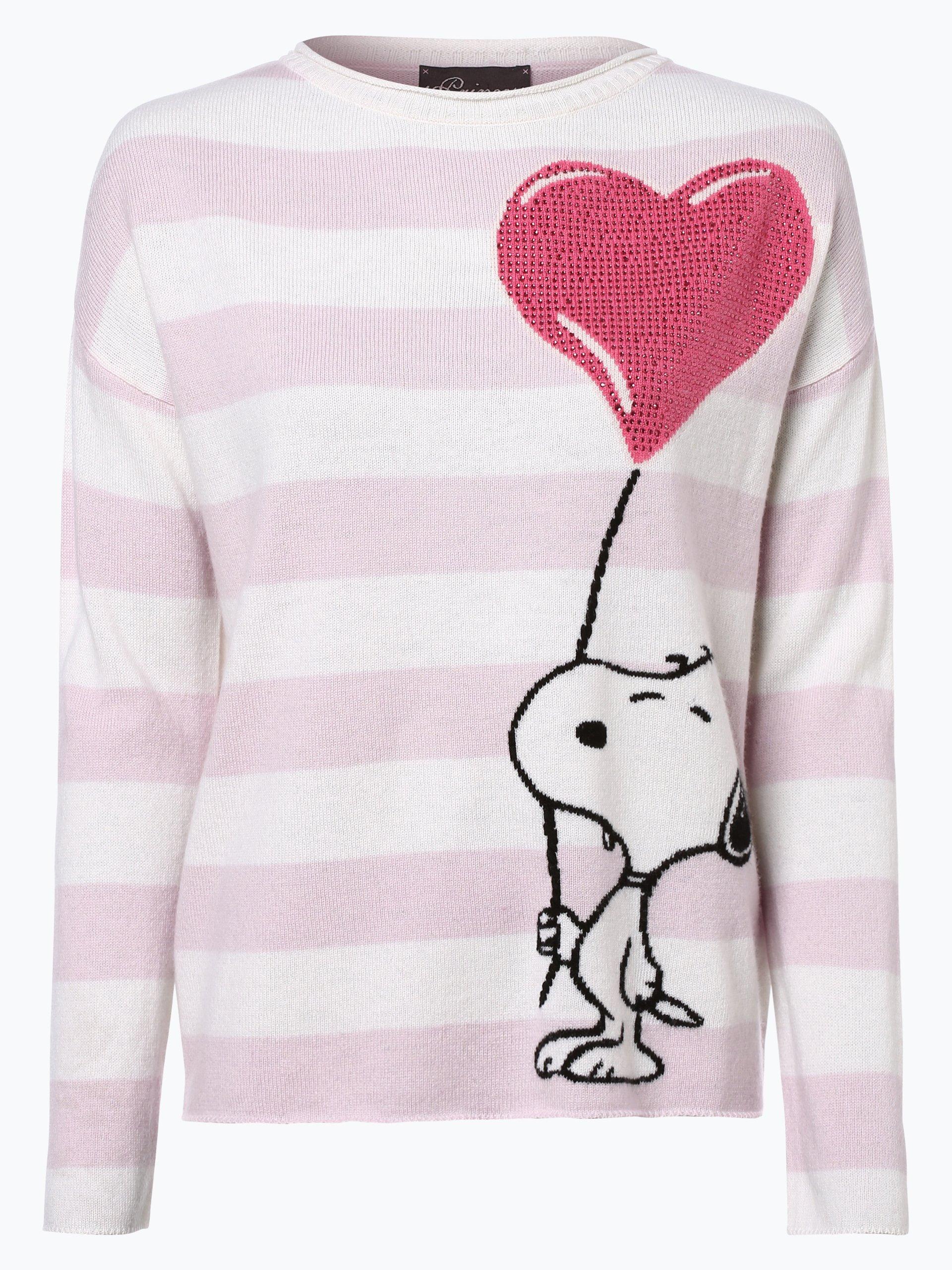 princess goes hollywood damen pullover mit cashmere anteil rosa gestreift online kaufen. Black Bedroom Furniture Sets. Home Design Ideas