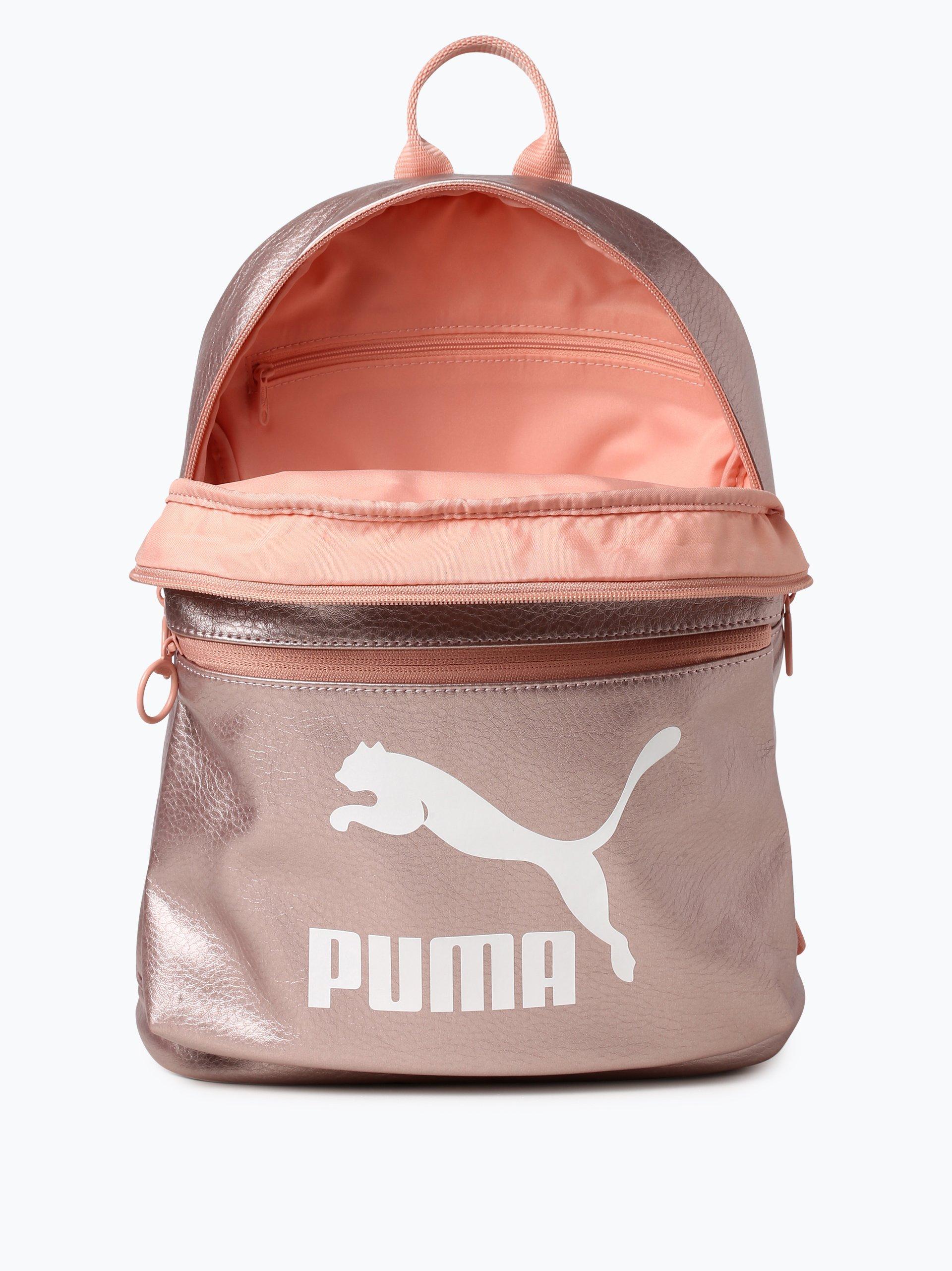 puma damen rucksack rosa bedruckt online kaufen vangraaf com. Black Bedroom Furniture Sets. Home Design Ideas