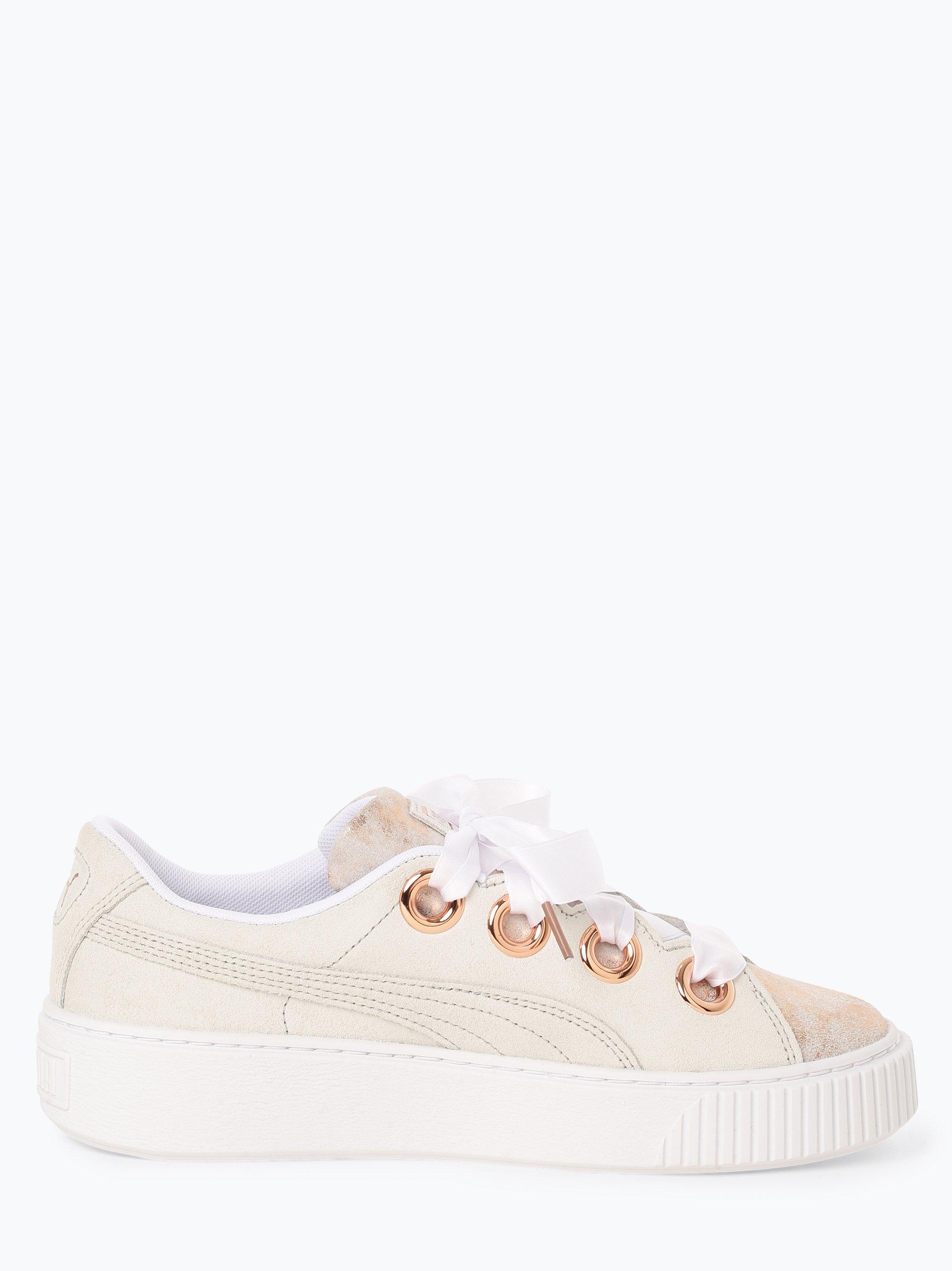Puma Damen Sneaker aus Leder - Platform Kiss Artica