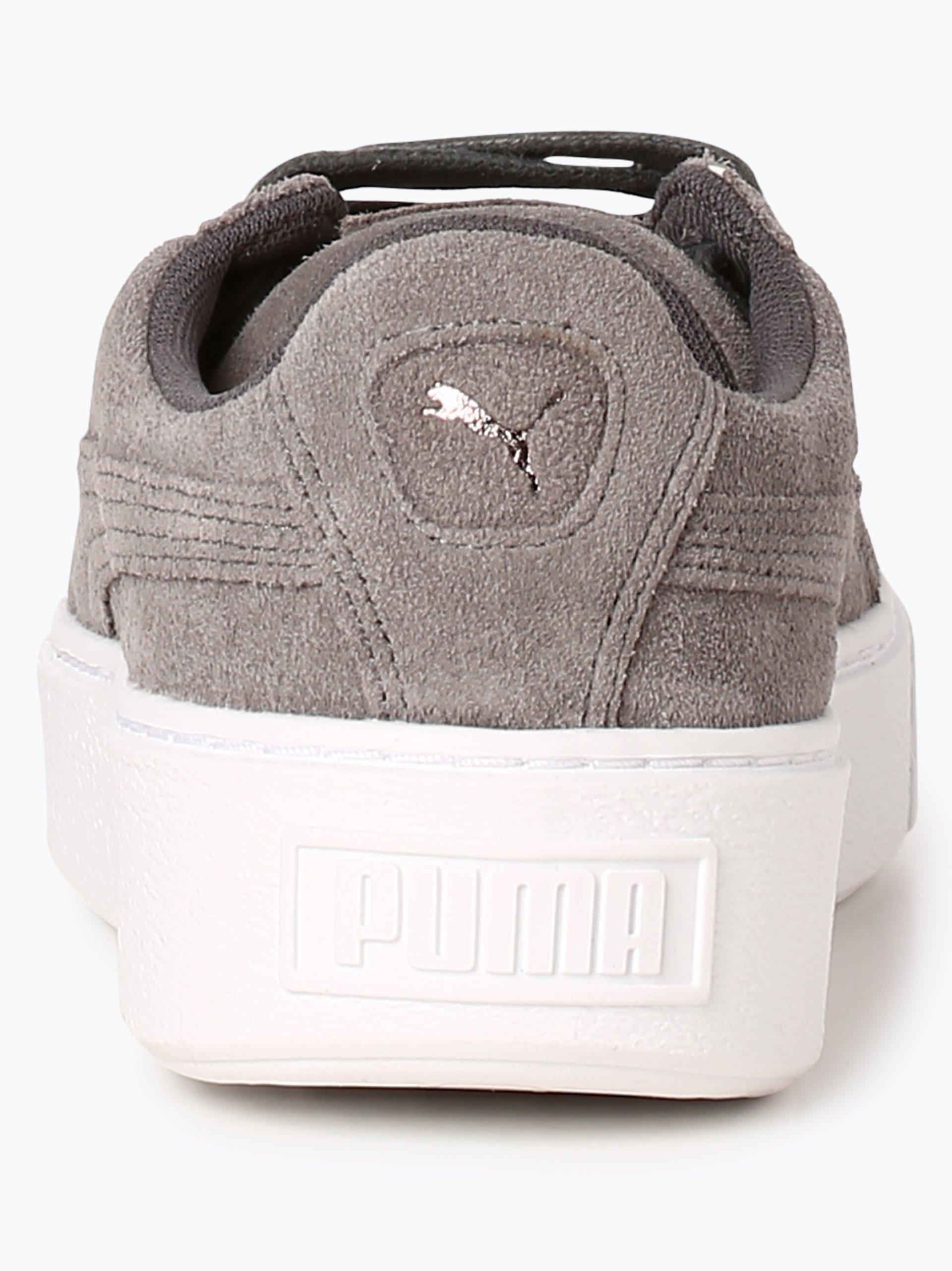 Puma Damen Sneaker aus Leder - Platform LunaLux