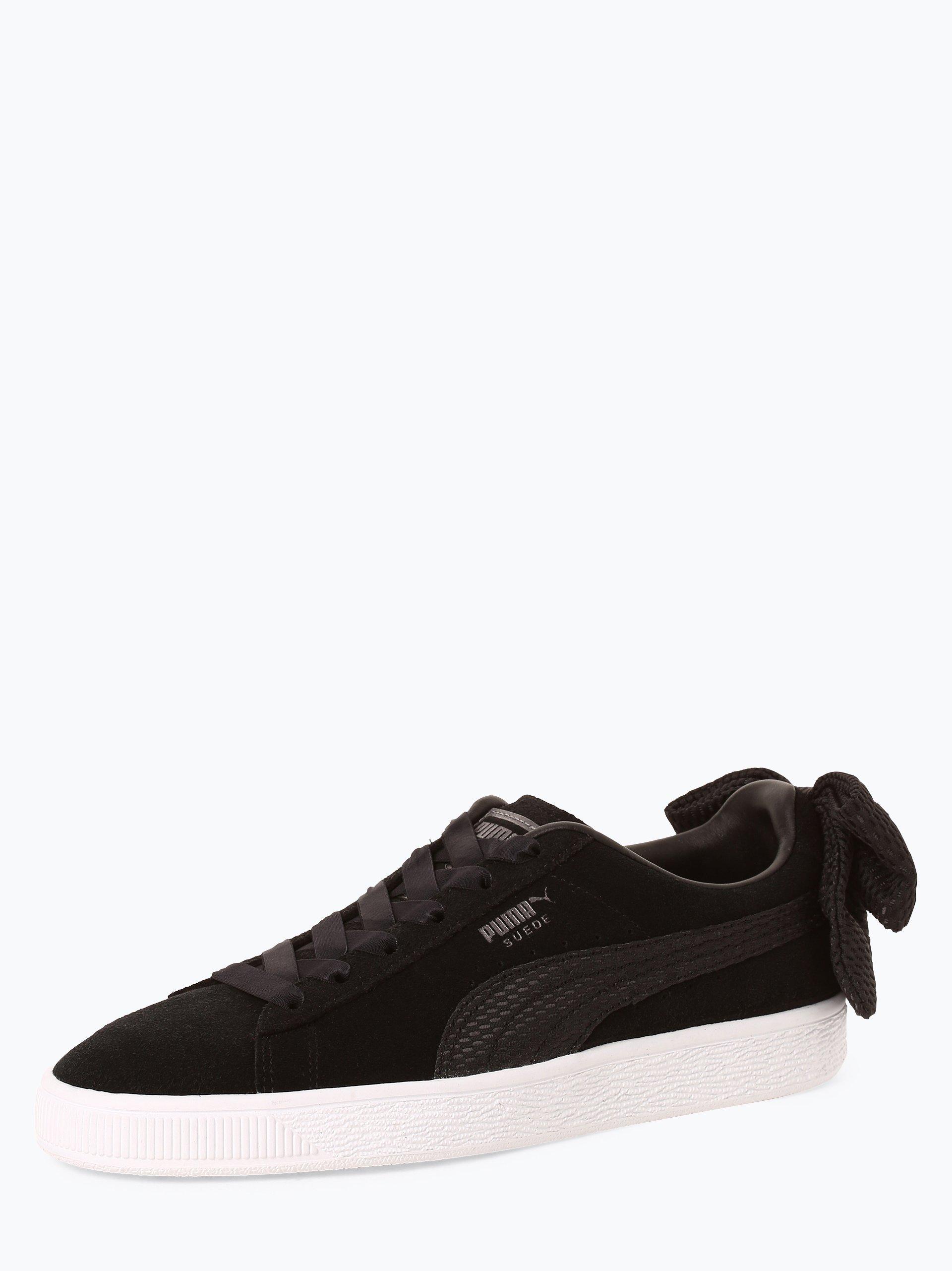 Puma Damen Sneaker aus Leder - Suede Bow Uprising