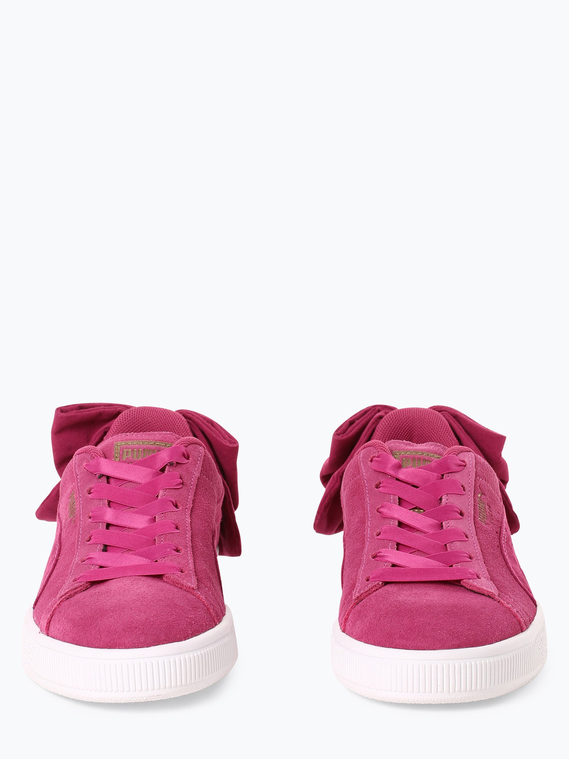 Puma Damen Sneaker aus Leder - Suede Bow