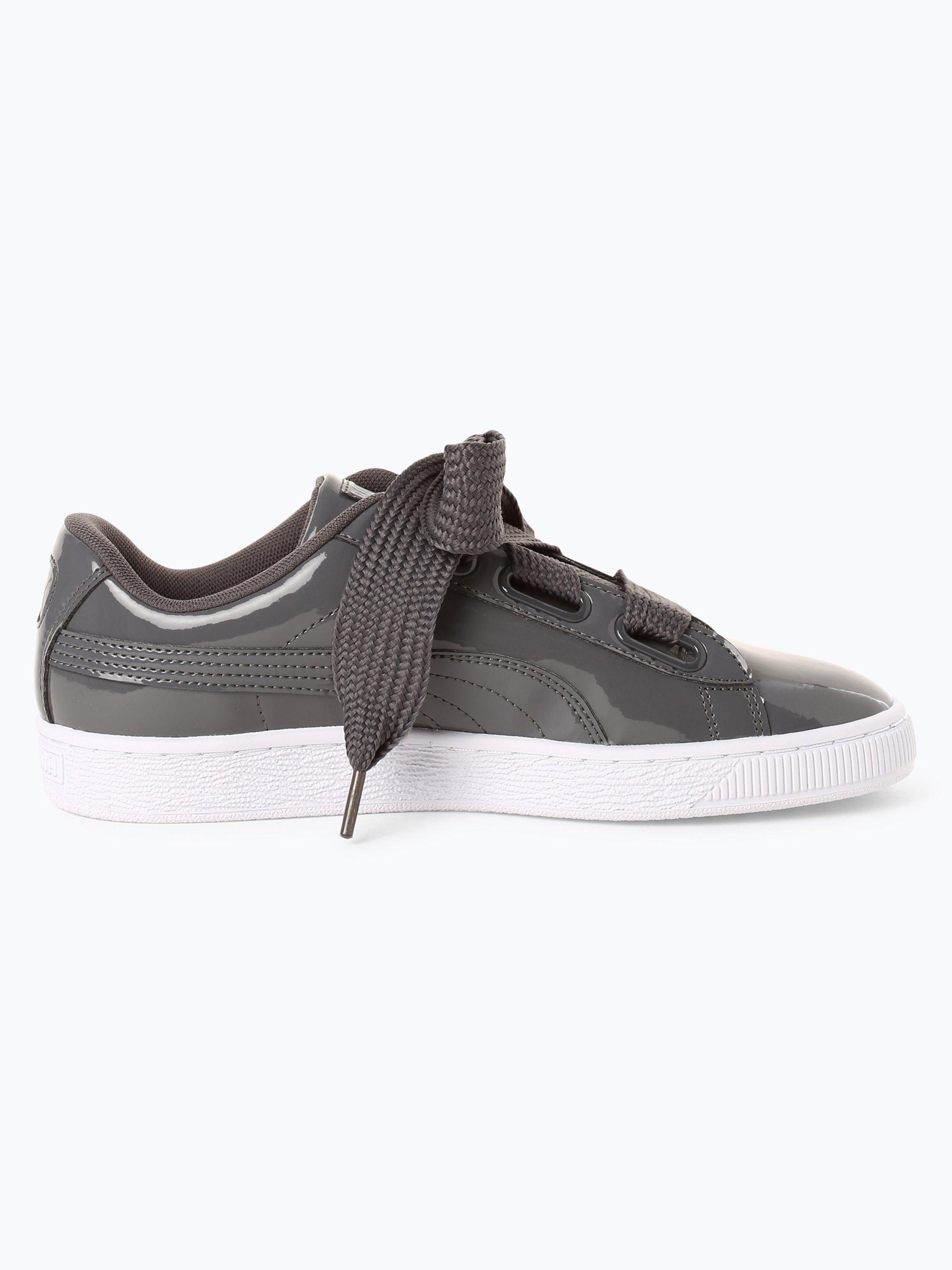 puma damen sneaker basket grau uni online kaufen. Black Bedroom Furniture Sets. Home Design Ideas