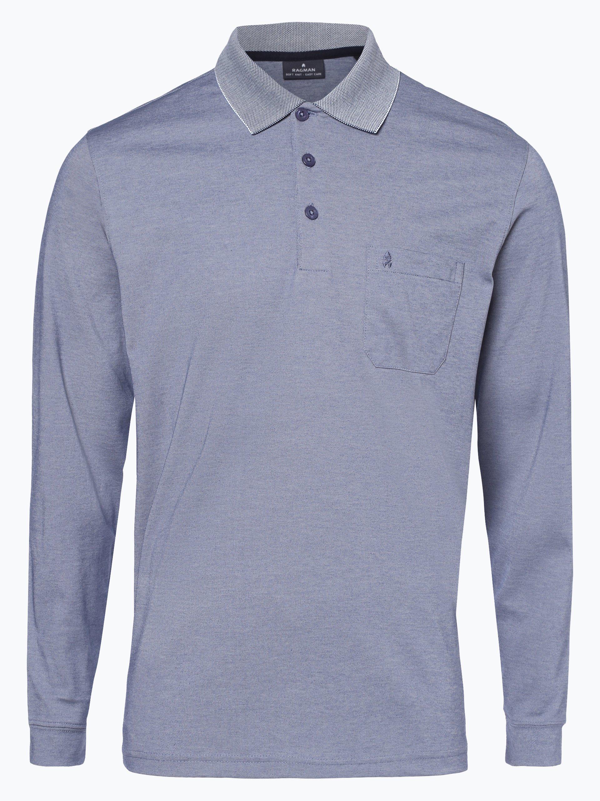 Ragman Herren Poloshirt