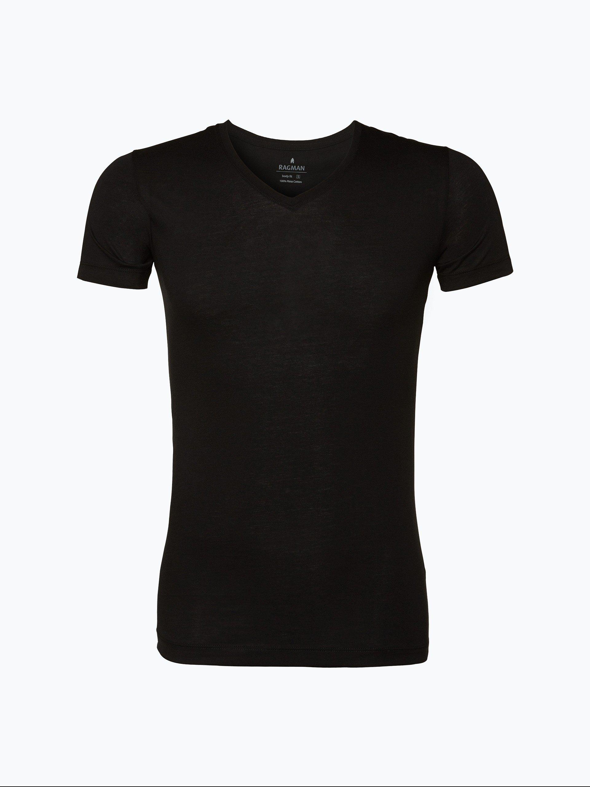 Ragman Herren T-Shirt im 2er Pack