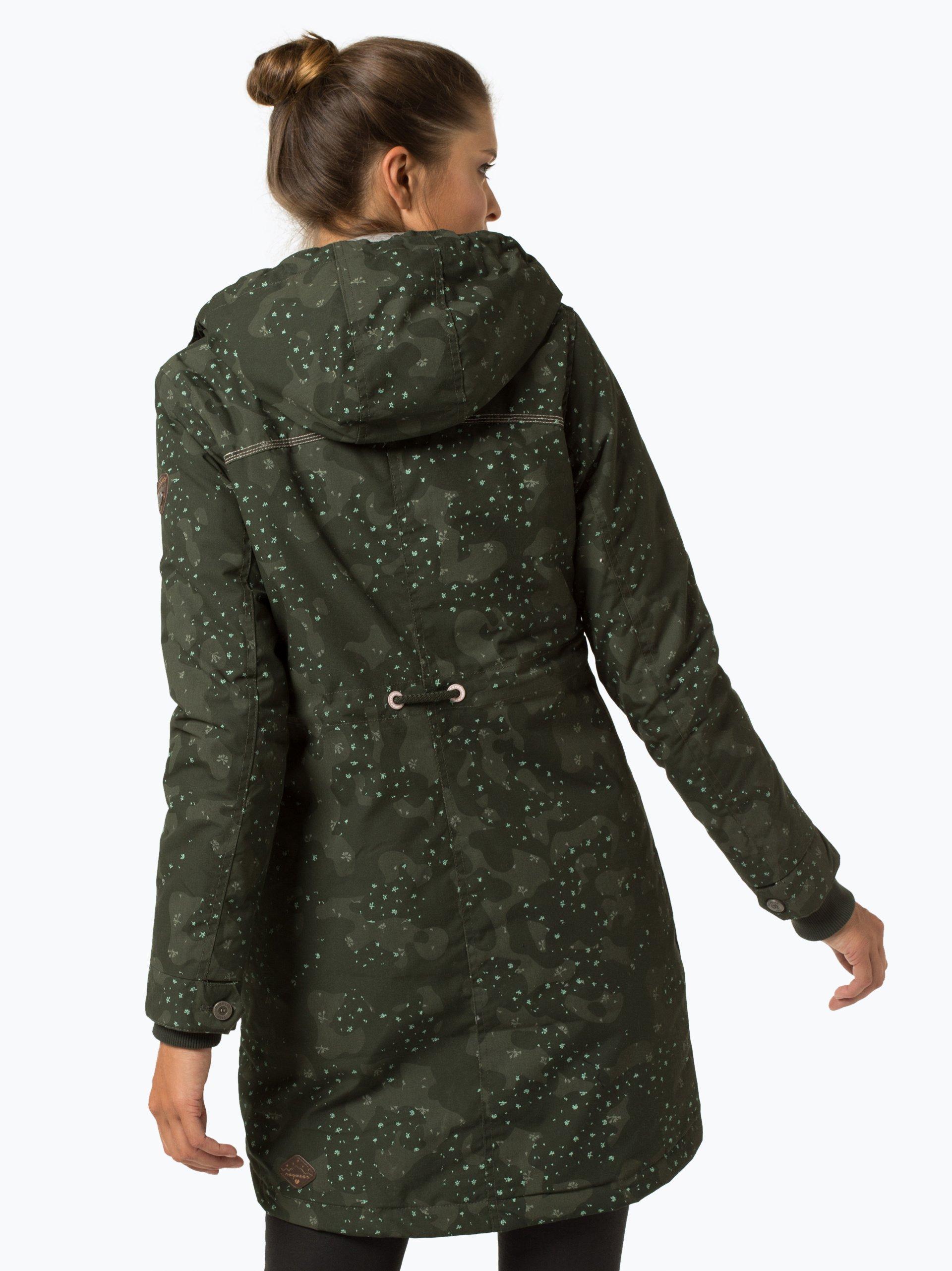 Ragwear Tawny Camo Jacket Dark Grey