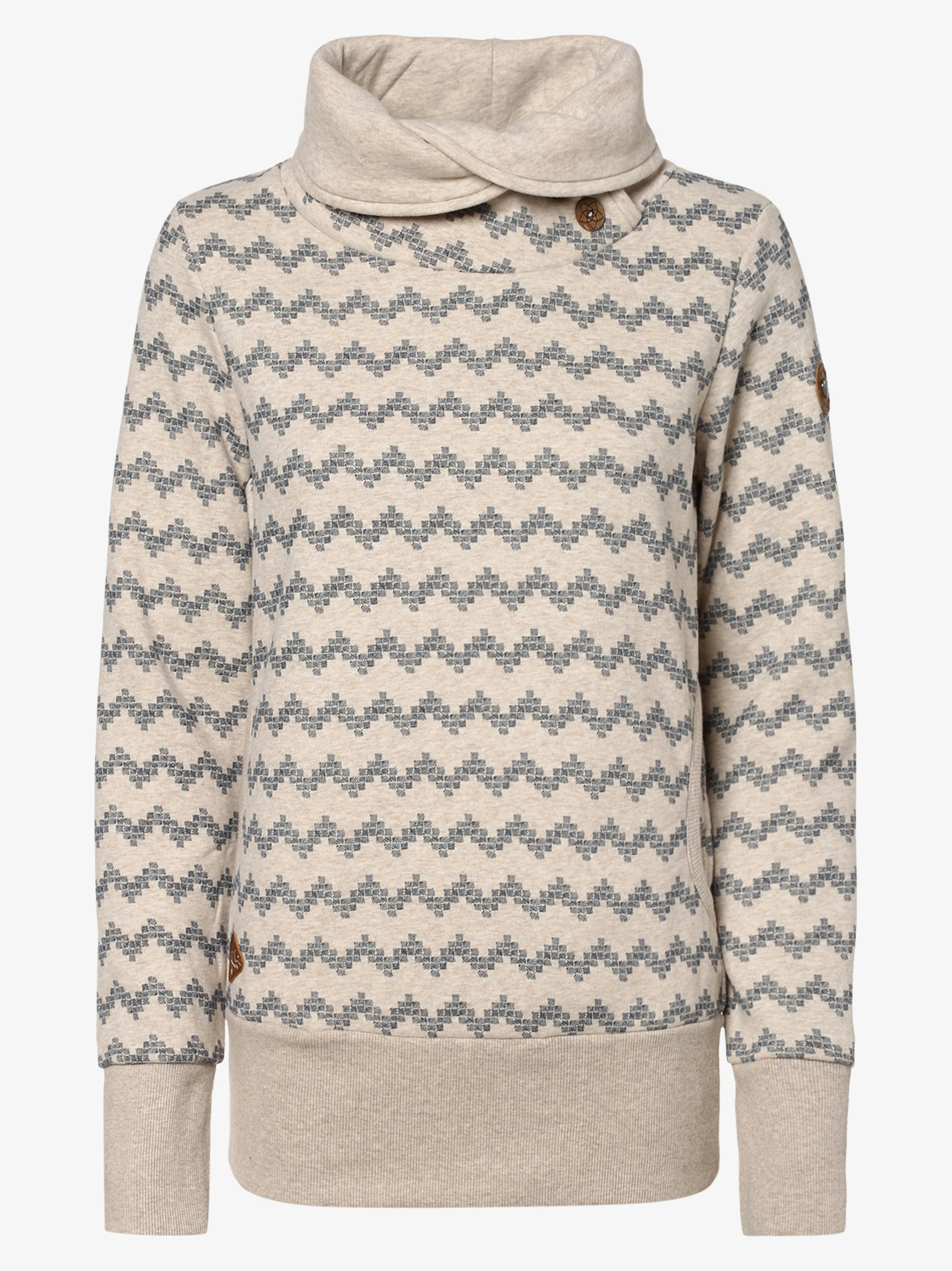 Ragwear Damen Sweatshirt - Angel Zig Zag