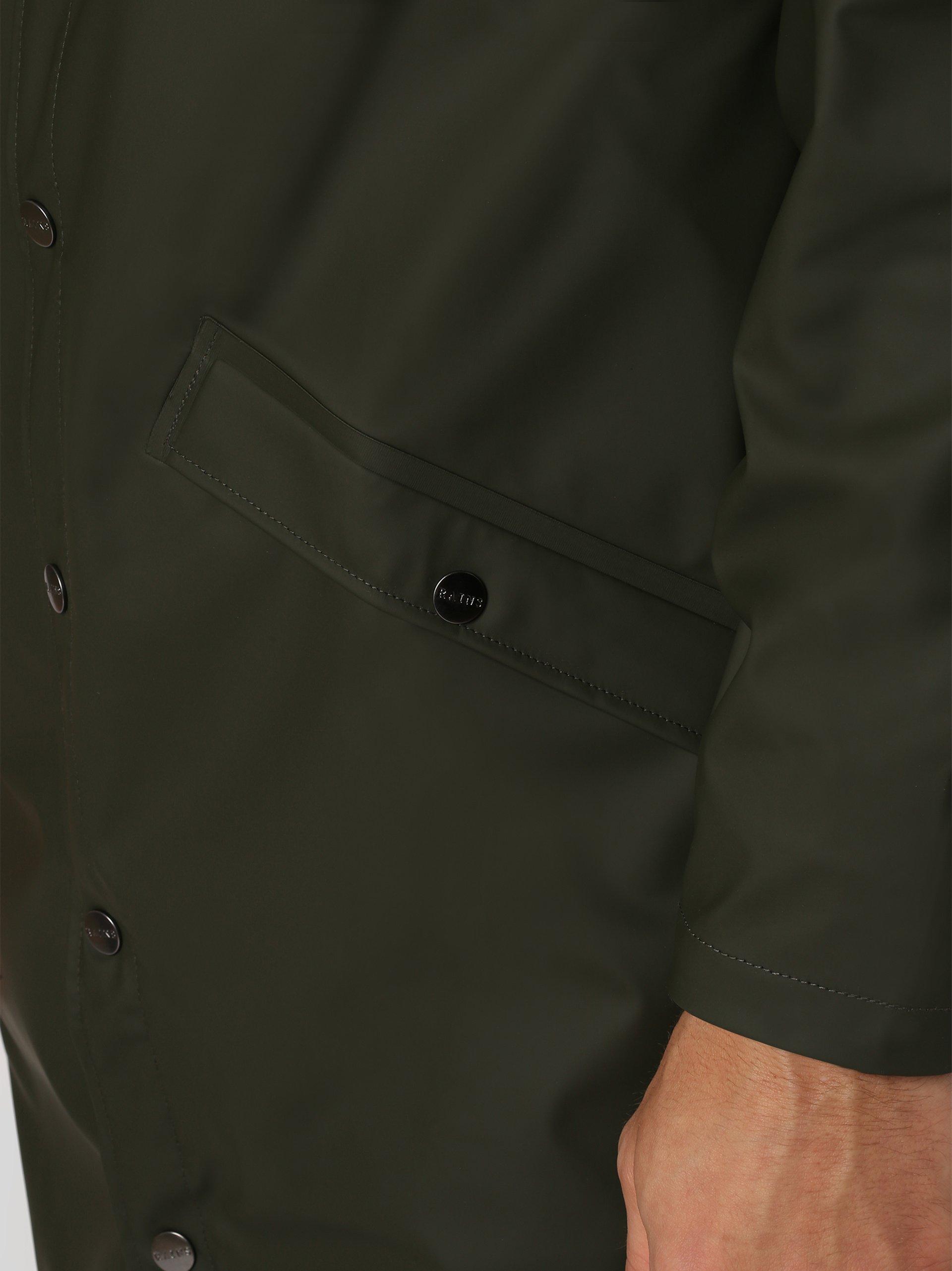 RAINS Męski płaszcz funkcyjny