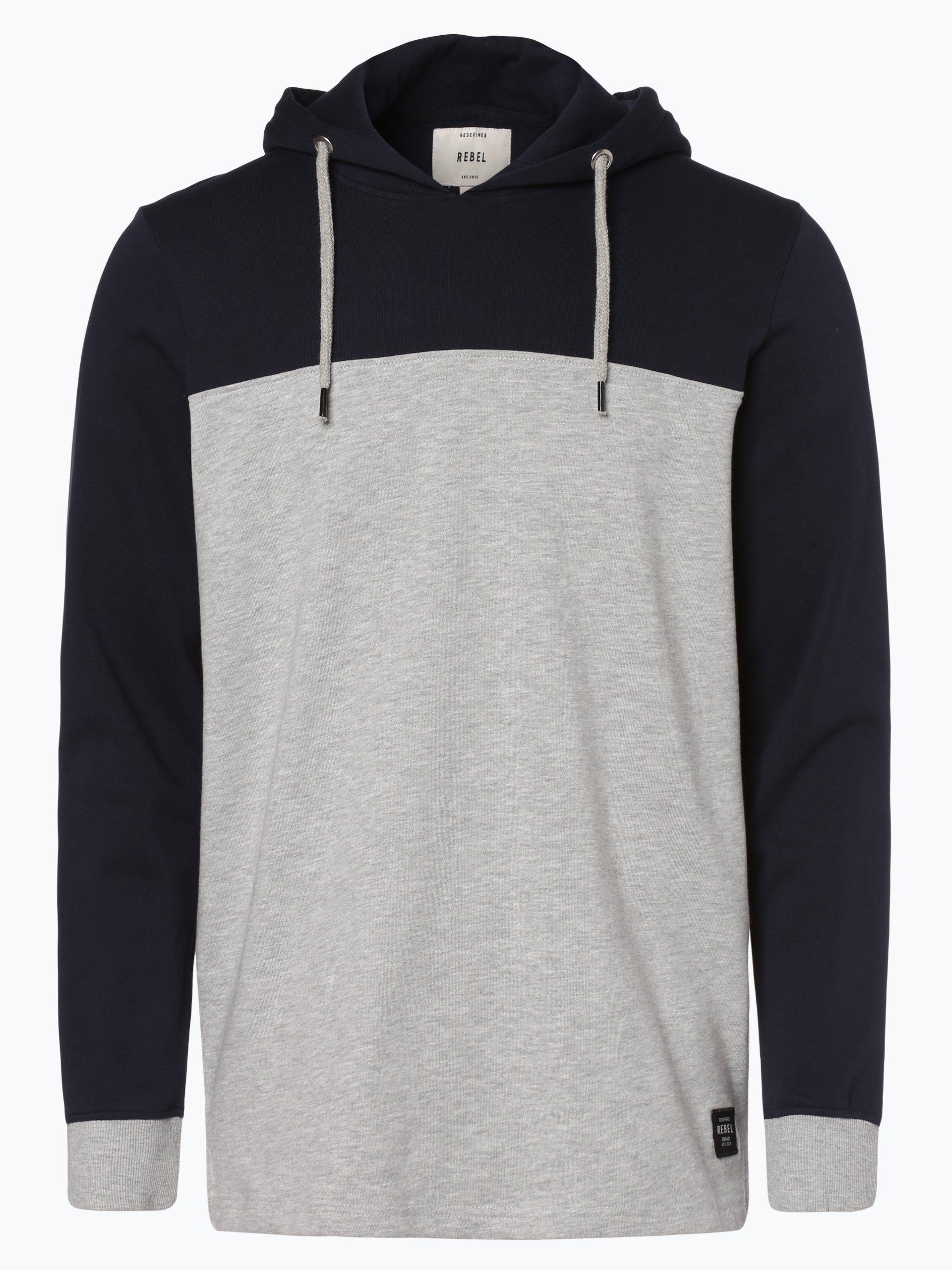 Redefined Rebel Męska bluza nierozpinana – Tyler