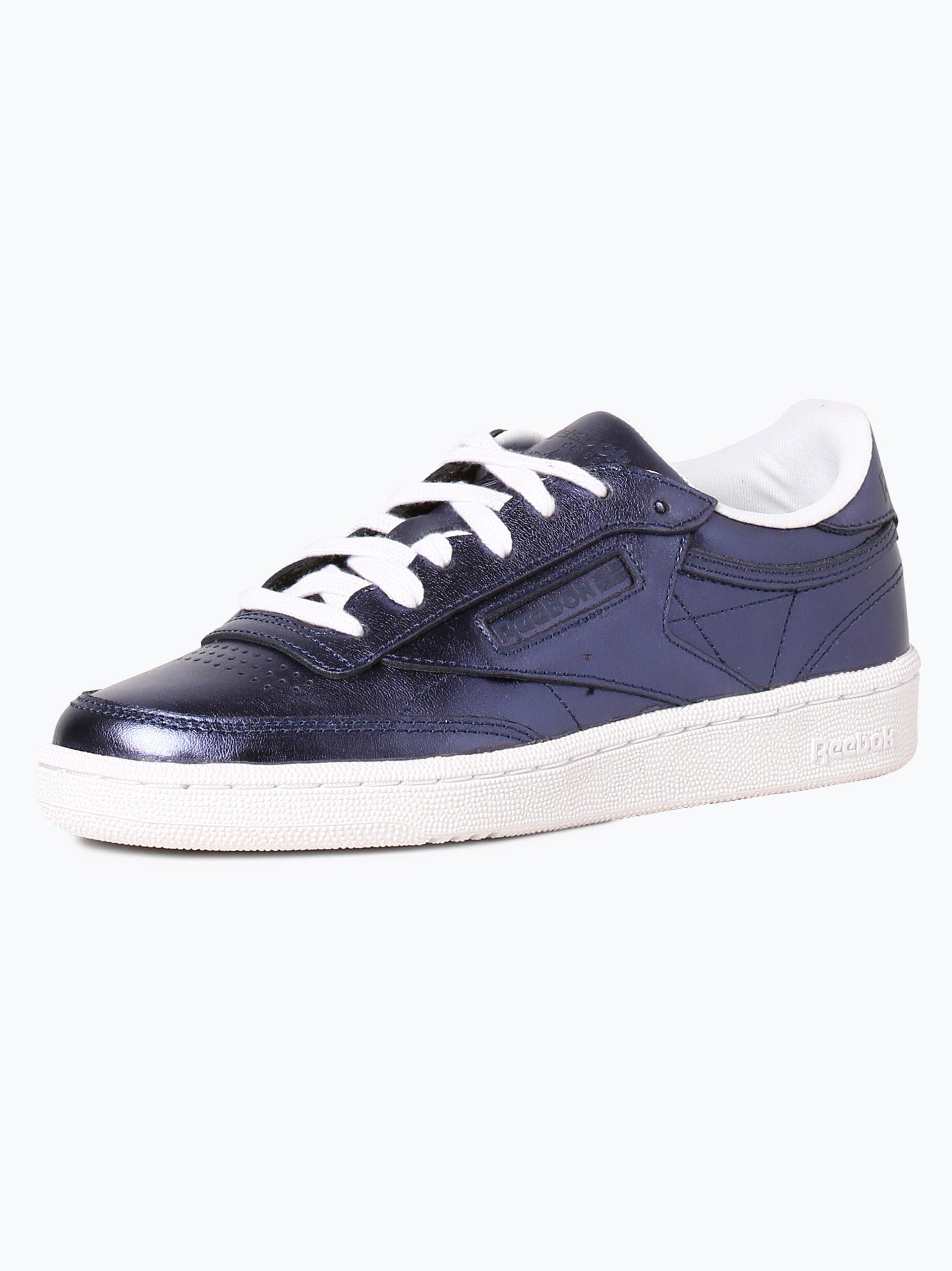 reebok damen sneaker aus leder blau uni online kaufen. Black Bedroom Furniture Sets. Home Design Ideas