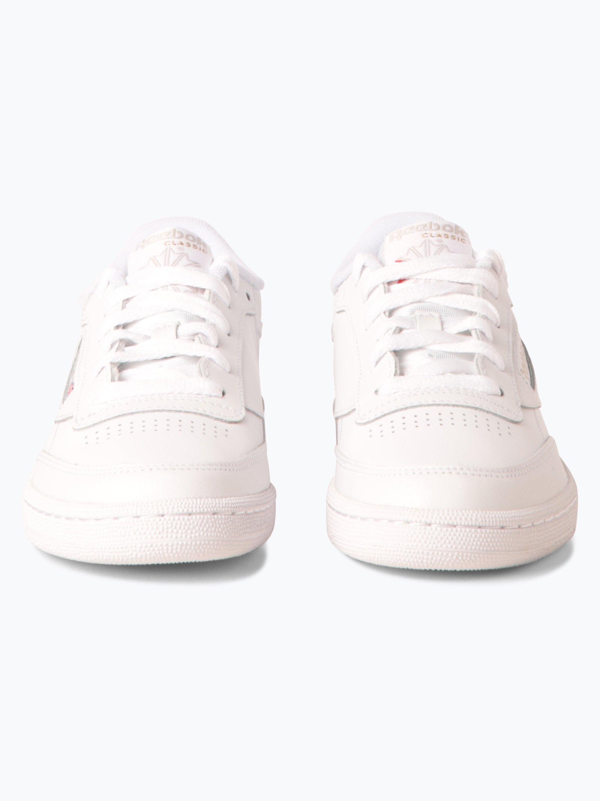 reebok damen sneaker aus leder wei uni online kaufen. Black Bedroom Furniture Sets. Home Design Ideas