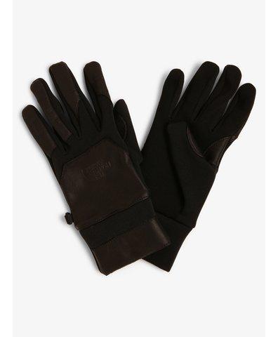 Rękawiczki męskie z dodatkiem skóry