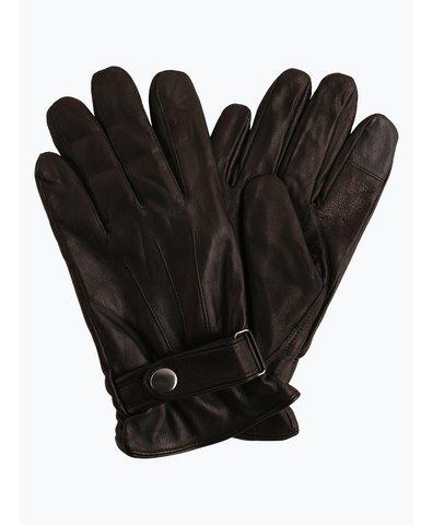 Rękawiczki męskie ze skóry