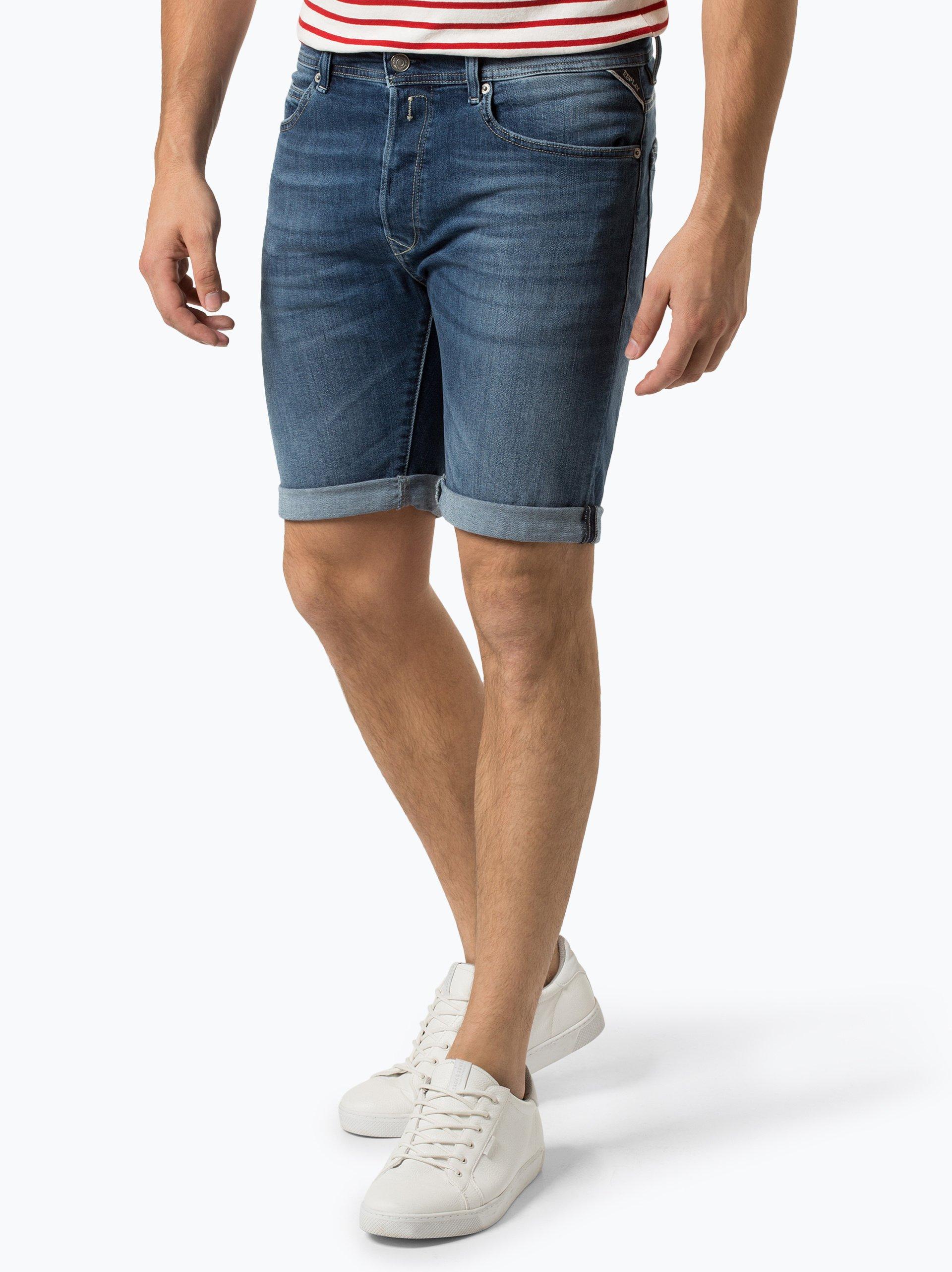 Replay Męskie spodenki jeansowe – RBJ 901