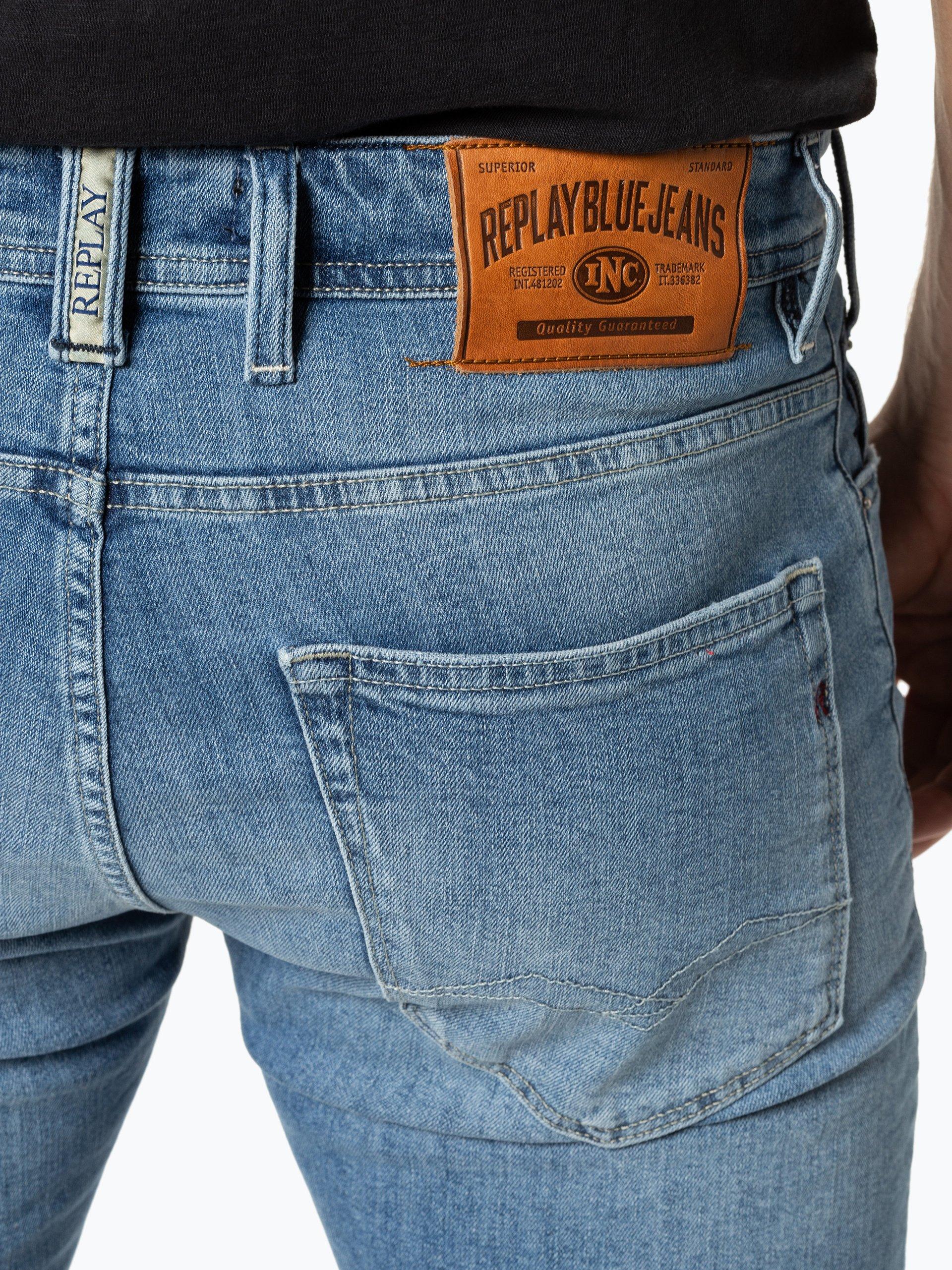 Replay Męskie spodenki jeansowe
