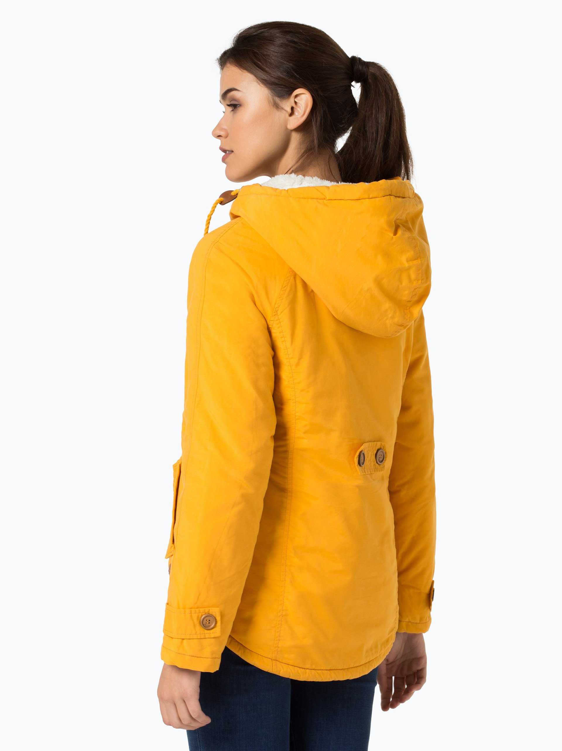 review damen jacke orange gelb uni online kaufen peek. Black Bedroom Furniture Sets. Home Design Ideas