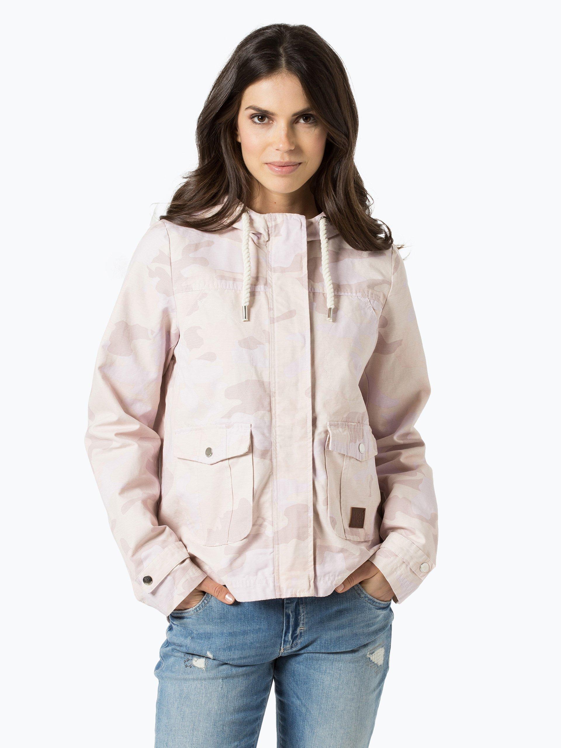 review damen jacke rosa gemustert online kaufen peek und