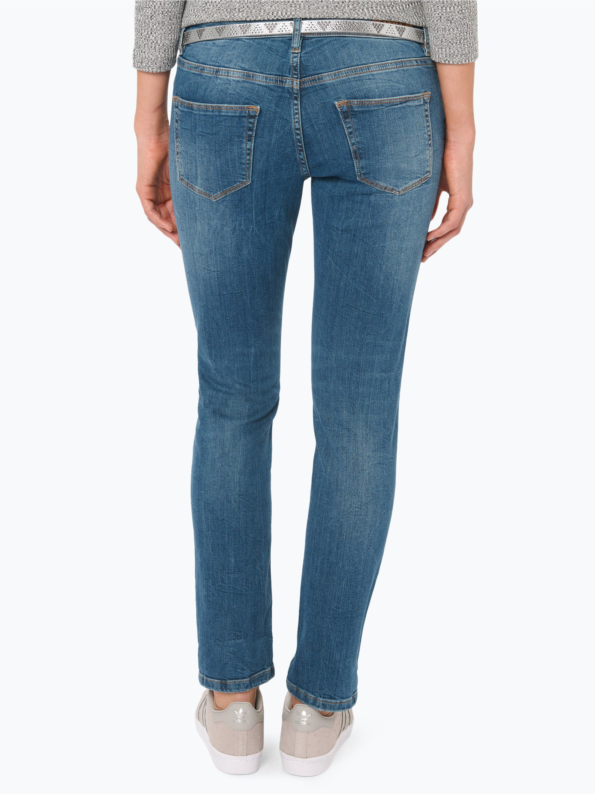 review damen jeans susi slim blau uni online kaufen peek und cloppenburg de. Black Bedroom Furniture Sets. Home Design Ideas