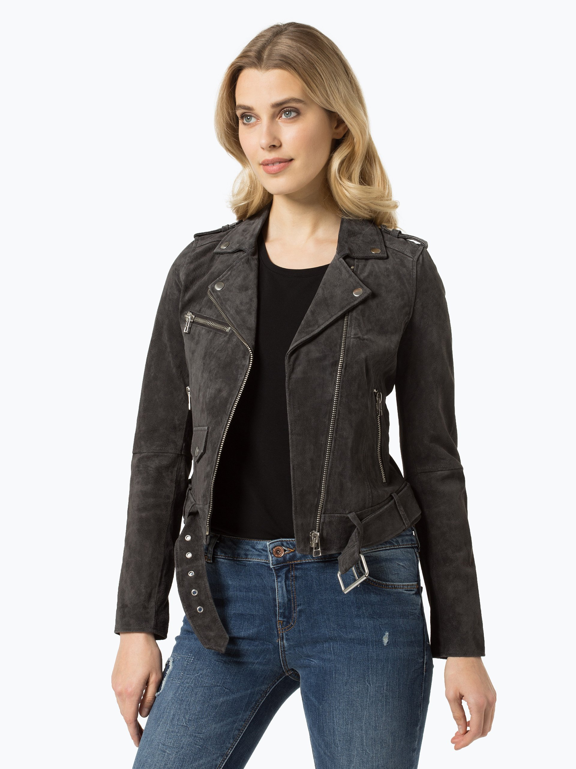Review Damen Lederjacke